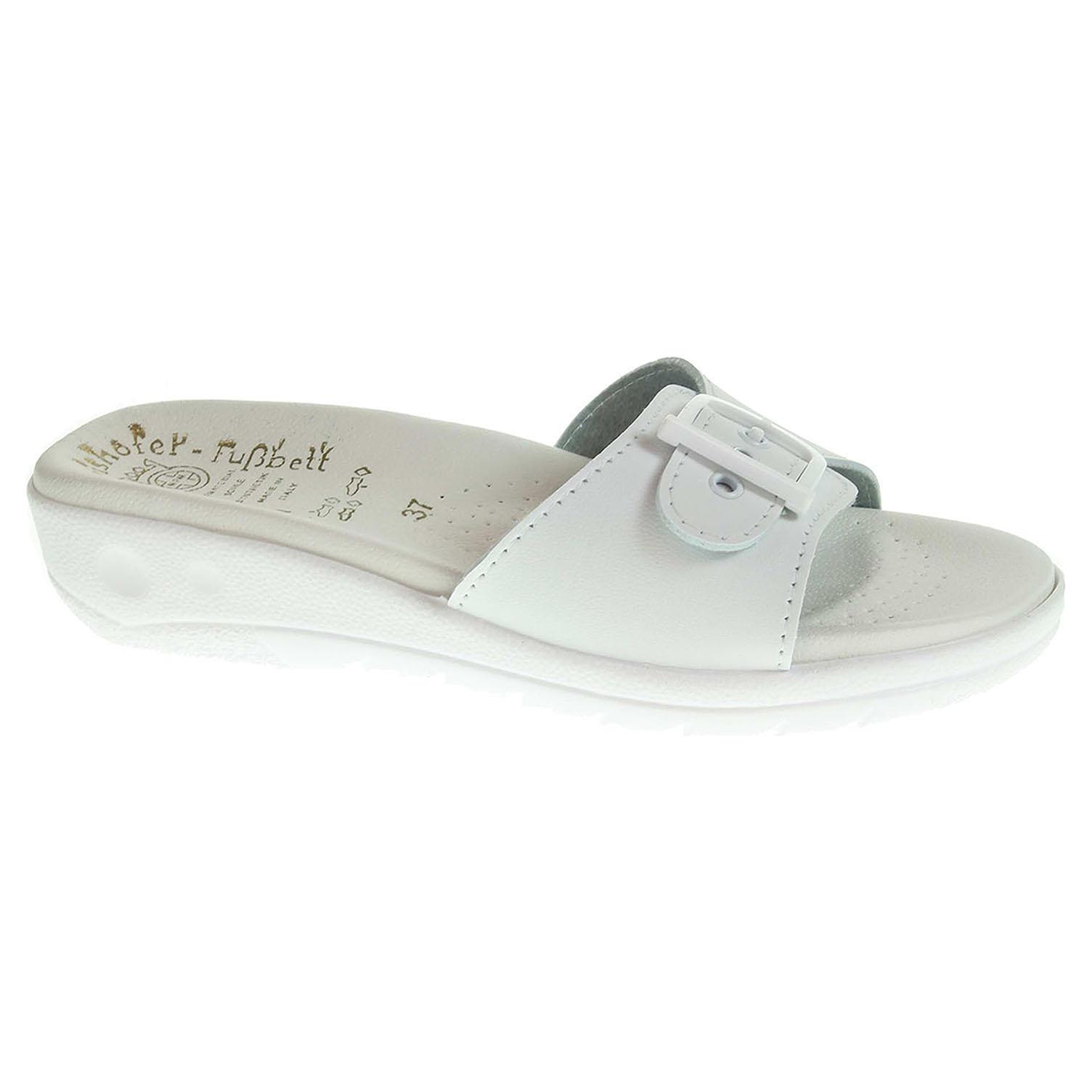 Dámské pantofle 5-20105 bílé 5-20105 bílá 37