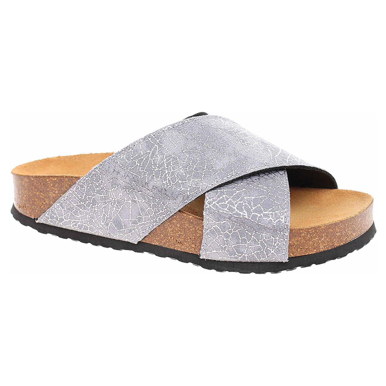 Dámské pantofle Bio Life 1484 Roxana grey 1484 Roxana grey 39