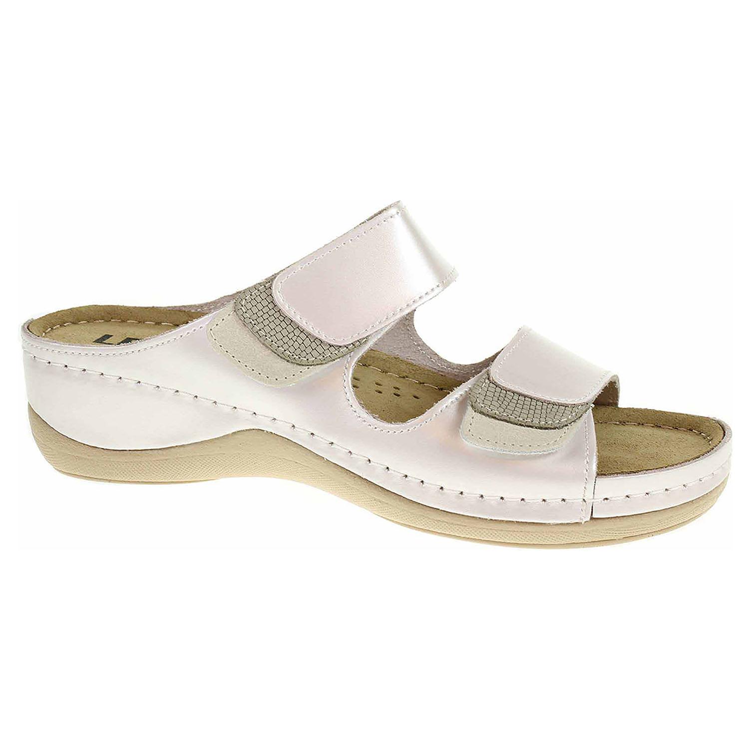 Dámské pantofle Leon 904 perla 904 perla 38