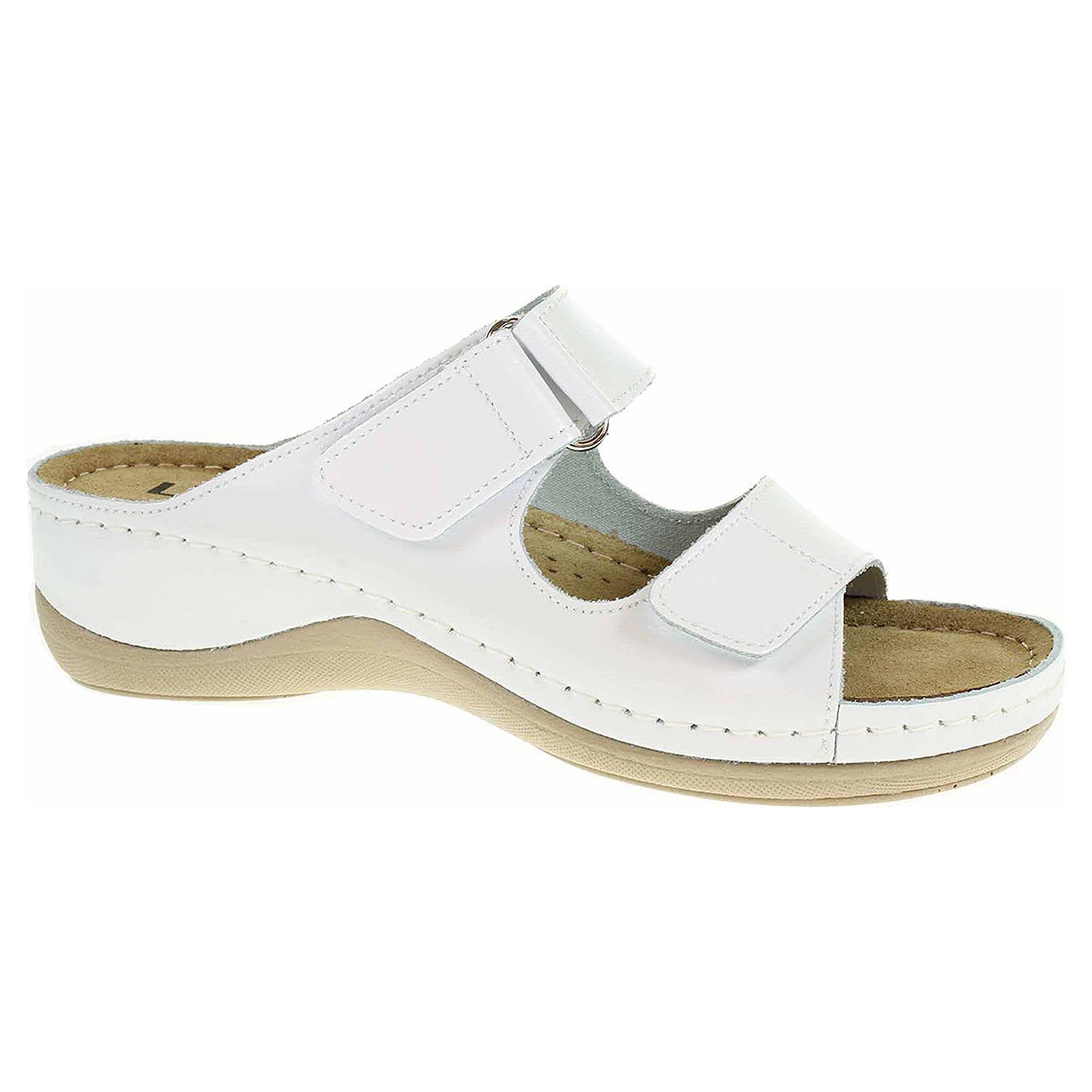 Dámské pantofle Leon 905 bílá 905 bílá 38