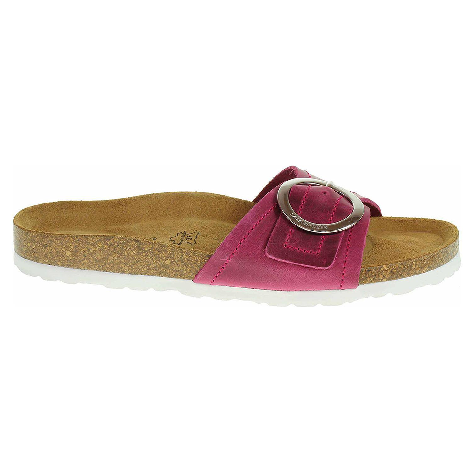 Dámské pantofle Salamander 32-13009-13 pink 32-13009-13 37