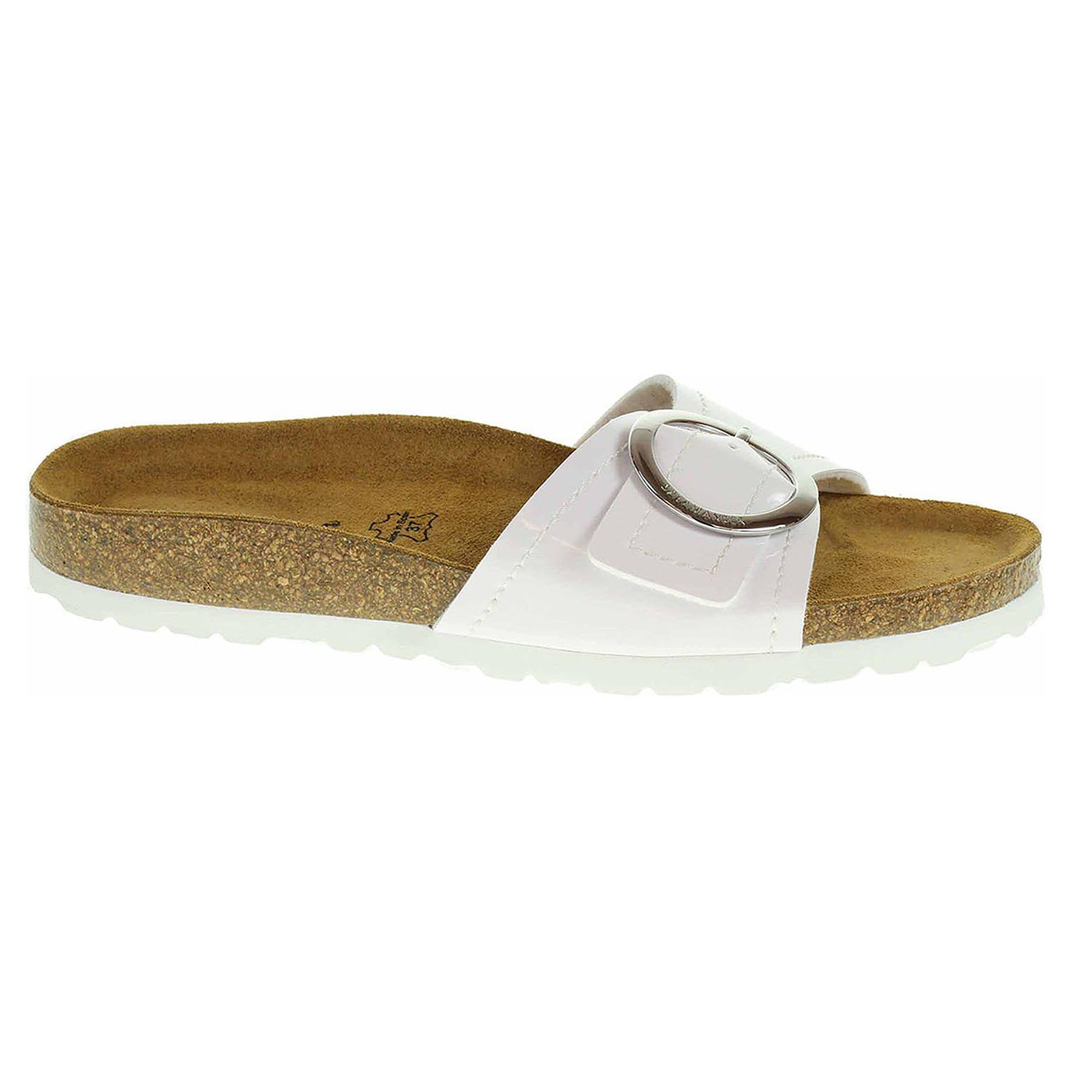 Dámské pantofle Salamander 32-13009-30 white 32-13009-30 37