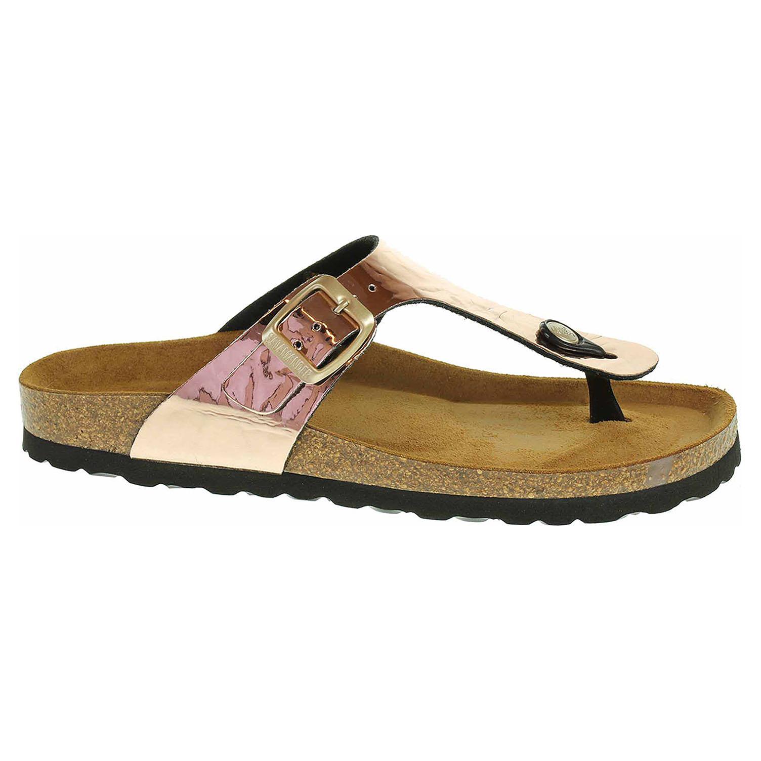 Dámské pantofle Salamander 32-13007-43 rosegold 32-13007-43 38