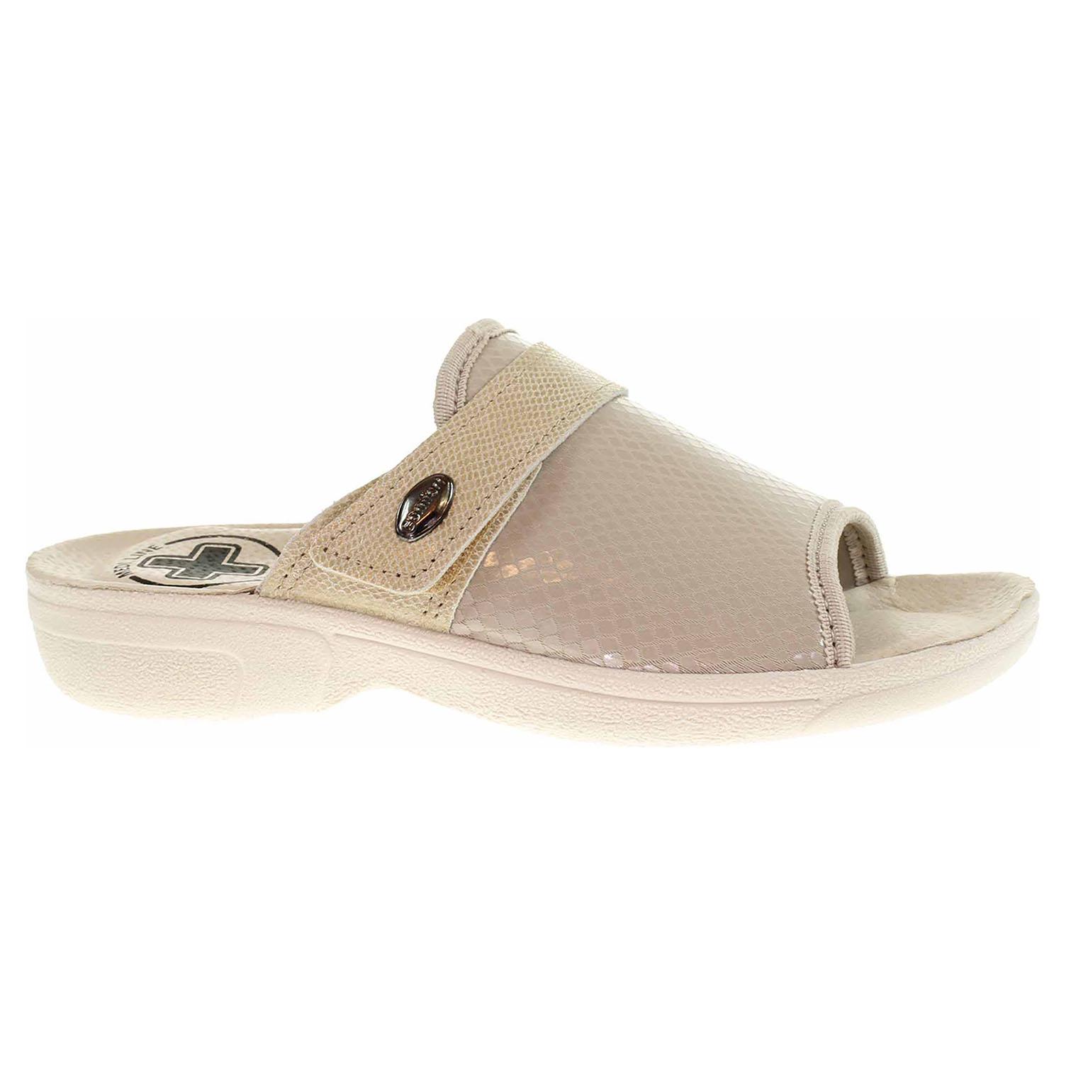 Dámské domácí pantofle Medi Line 1416 beige 1416 beige 39