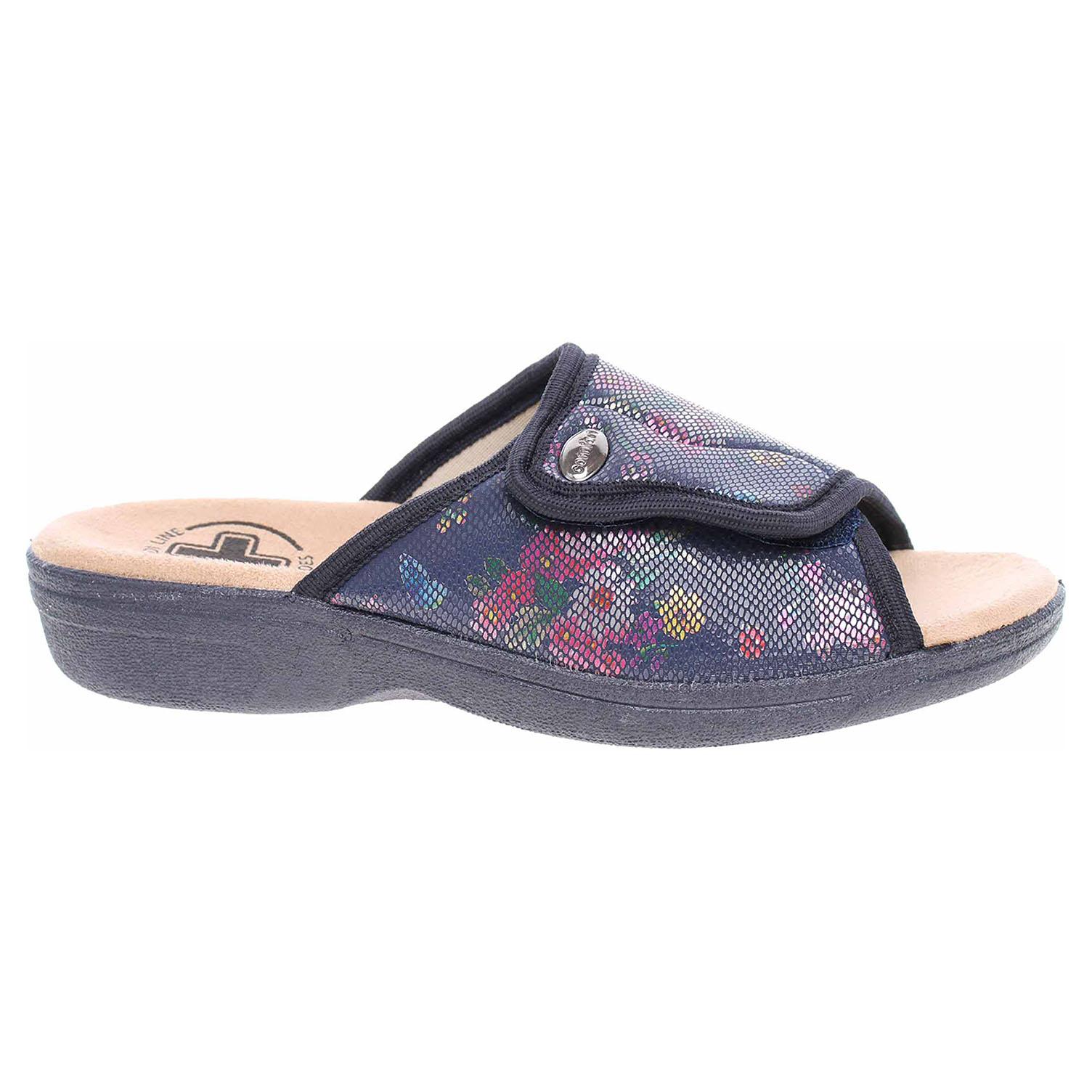 Dámské domácí pantofle Medi Line 1418 blue 1418 blue 38