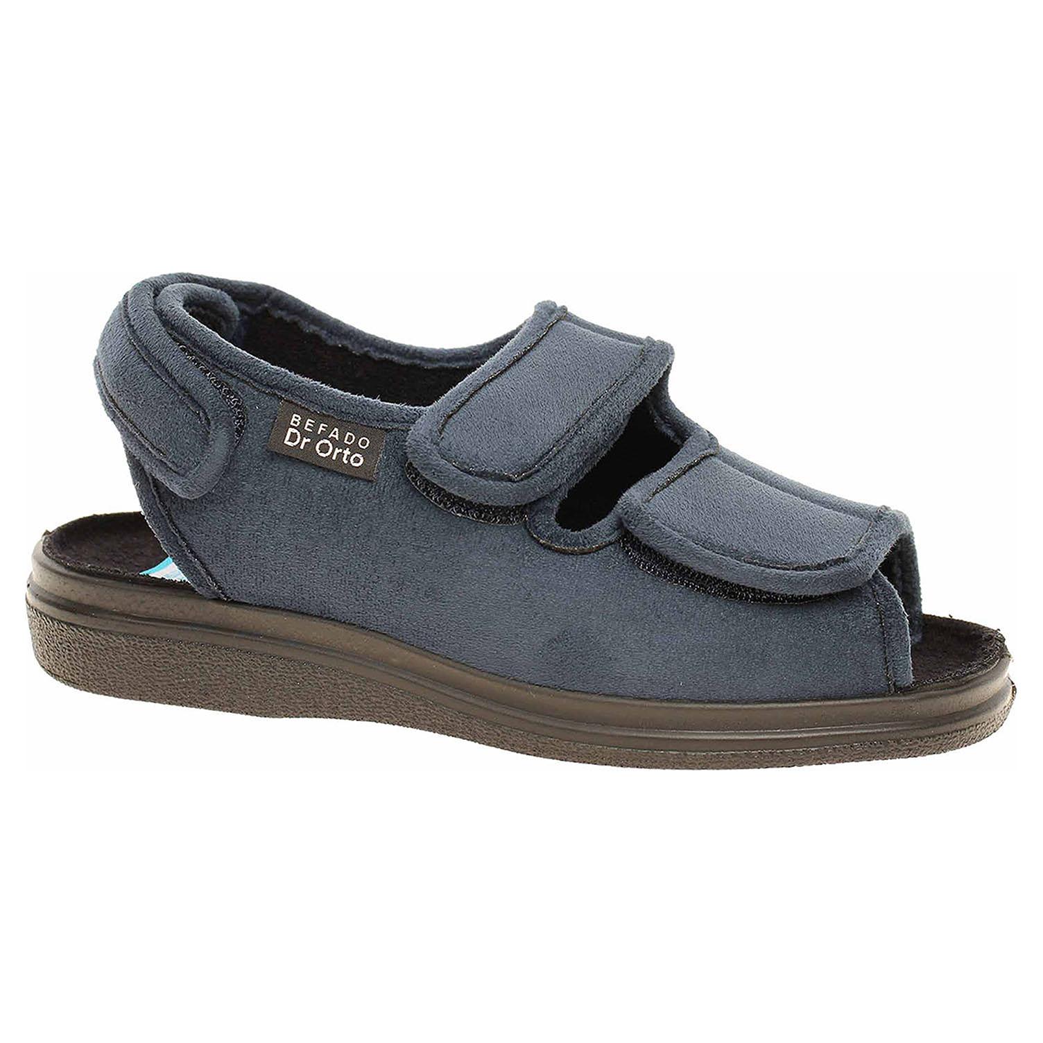 Domácí obuv Befado 676D003 modrá 676D003 39