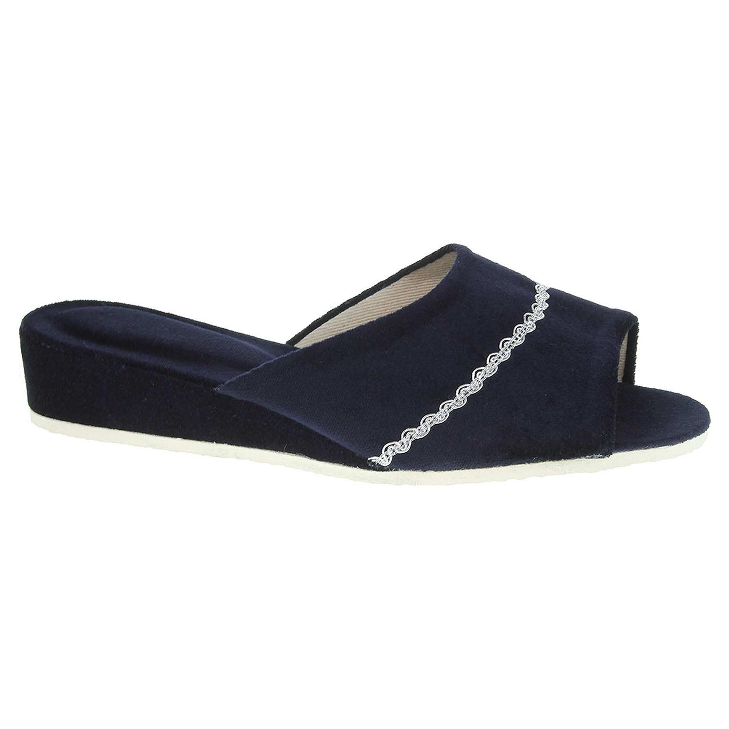 Dámské domácí pantofle 1029.00 modré 1029.00 modrá 39