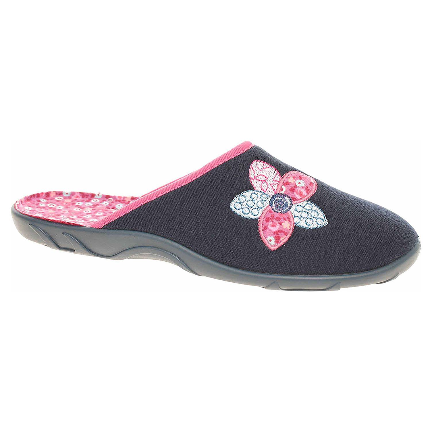 Dámské domácí pantofle Befado 235D154 modrá 235D154 38
