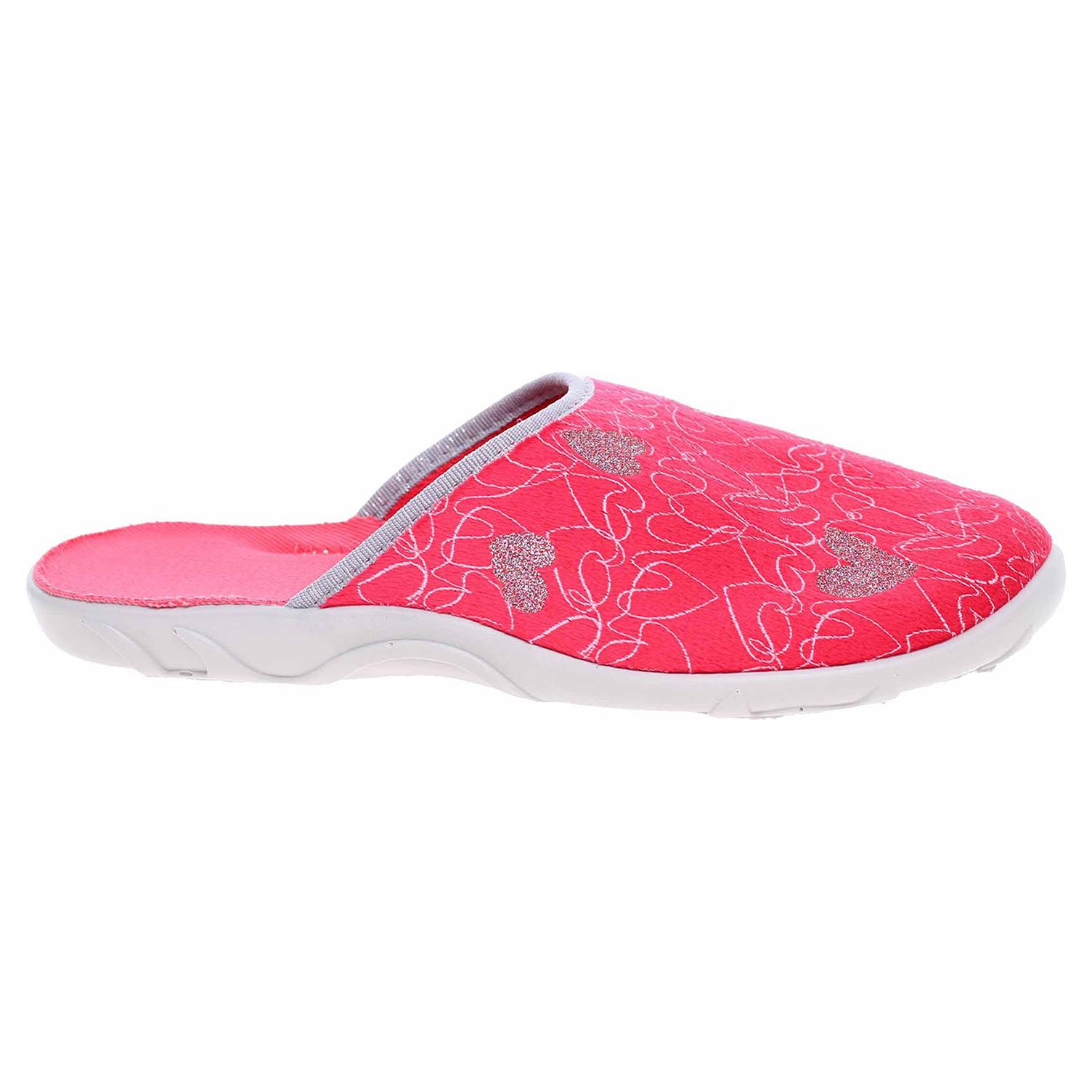 Dámské domácí pantofle Befado 235D160 červená 235D160 38