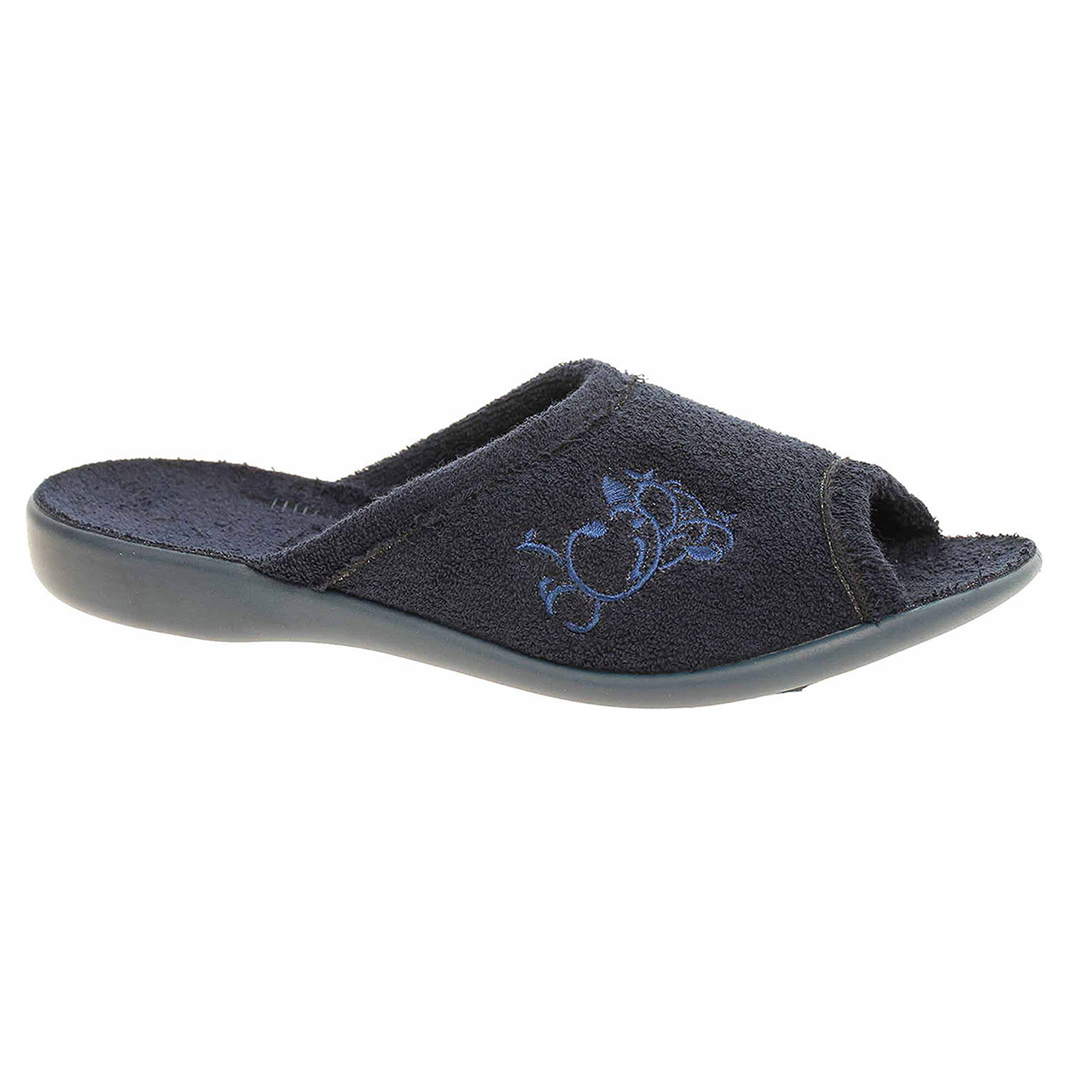 Dámské domácí pantofle Befado 256D002 modrá 256D002 38