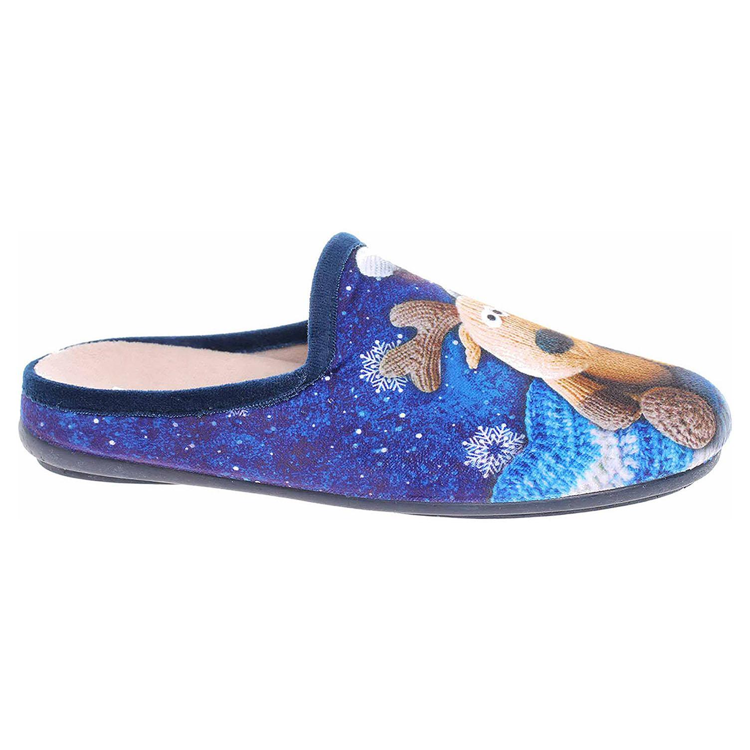 Dámské domácí pantofle Patrizia 1034-9 blue 1034-96 CA506 blue 39