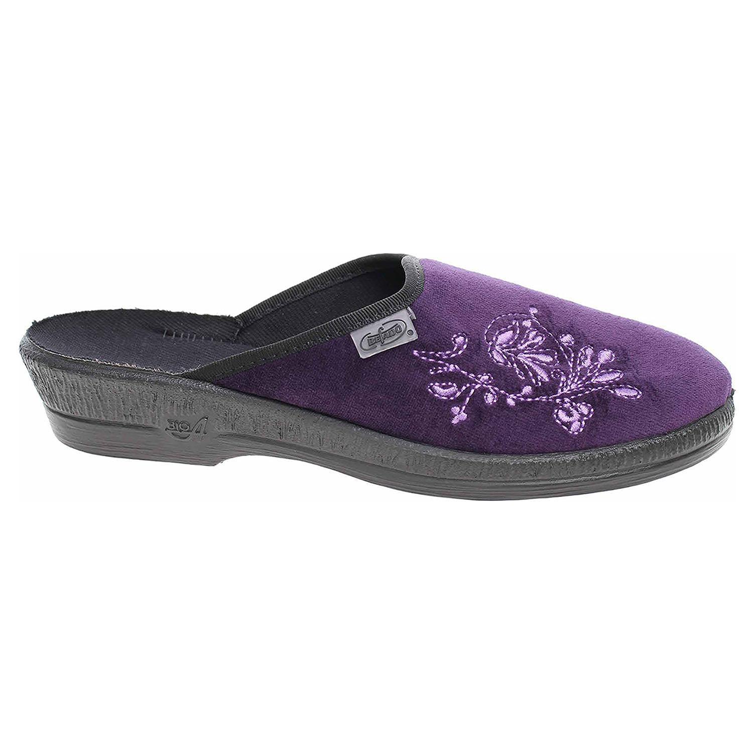 Dámské domácí pantofle Befado 219D425 fialová 219D425 fialová 38