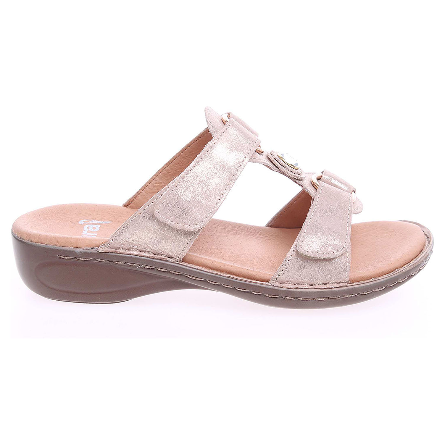 Ara dámské pantofle 37273 zlaté 37273-07 36
