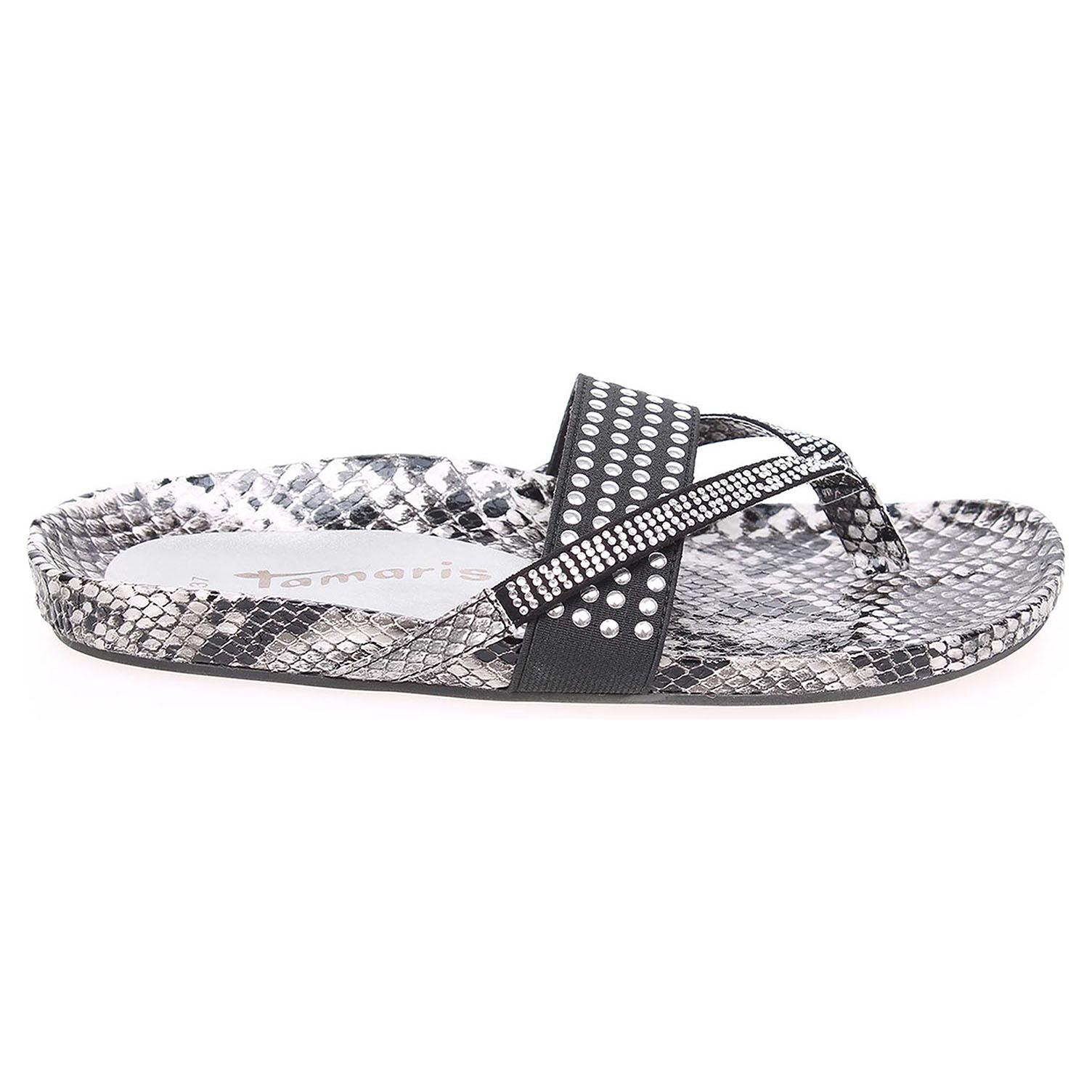 Tamaris dámské pantofle 1-27400-24 šedé 36