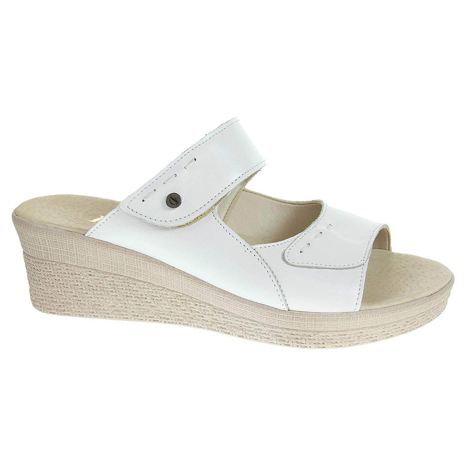 Dámské pantofle J3439 bílé J3439 biela 39