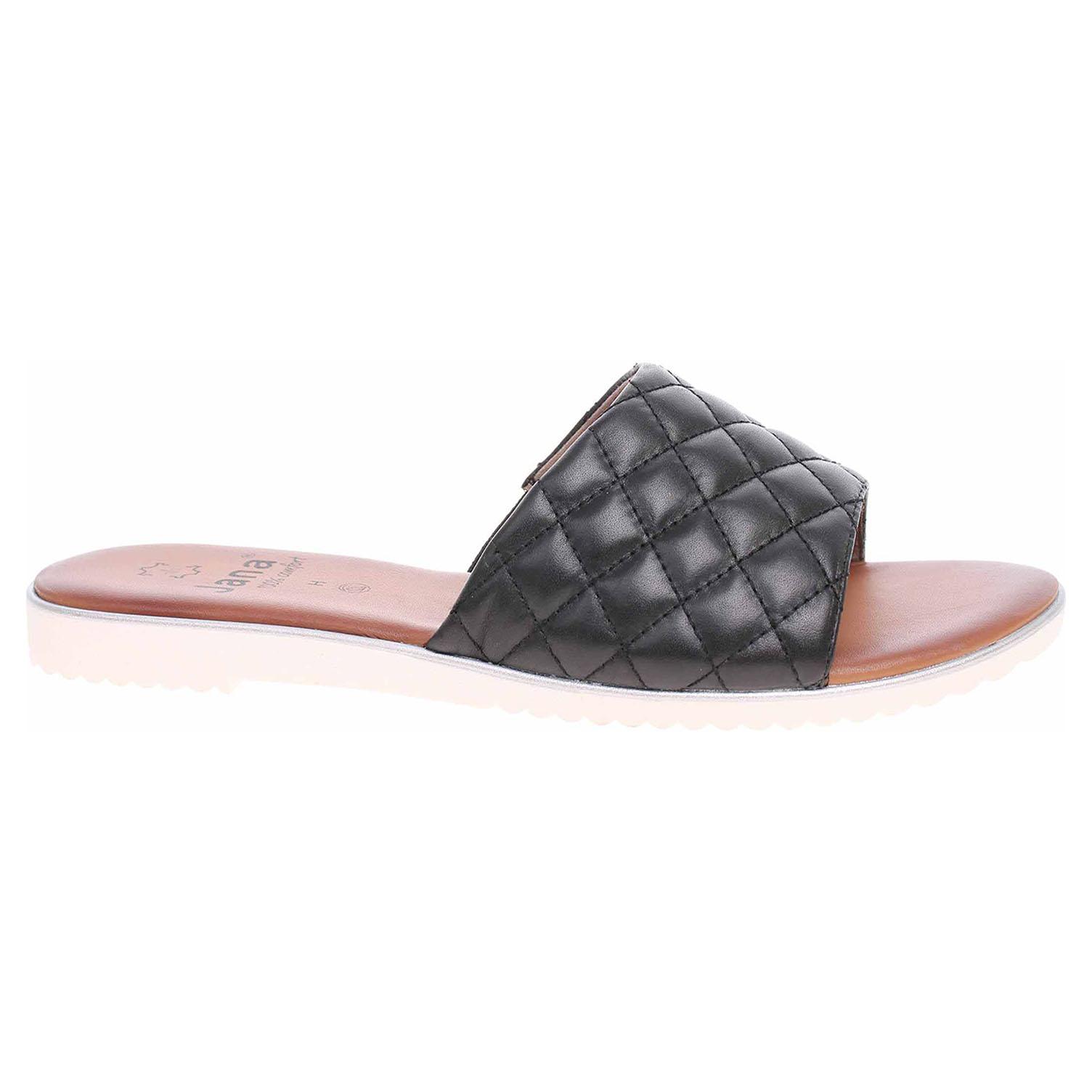 Dámské pantofle Jana 8-27106-26 black 8-8-27106-26 001 45