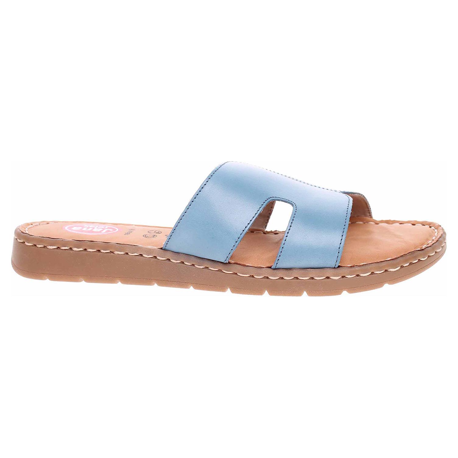 Dámské pantofle Jana 8-27115-26 lt. blue 8-8-27115-26 843 45