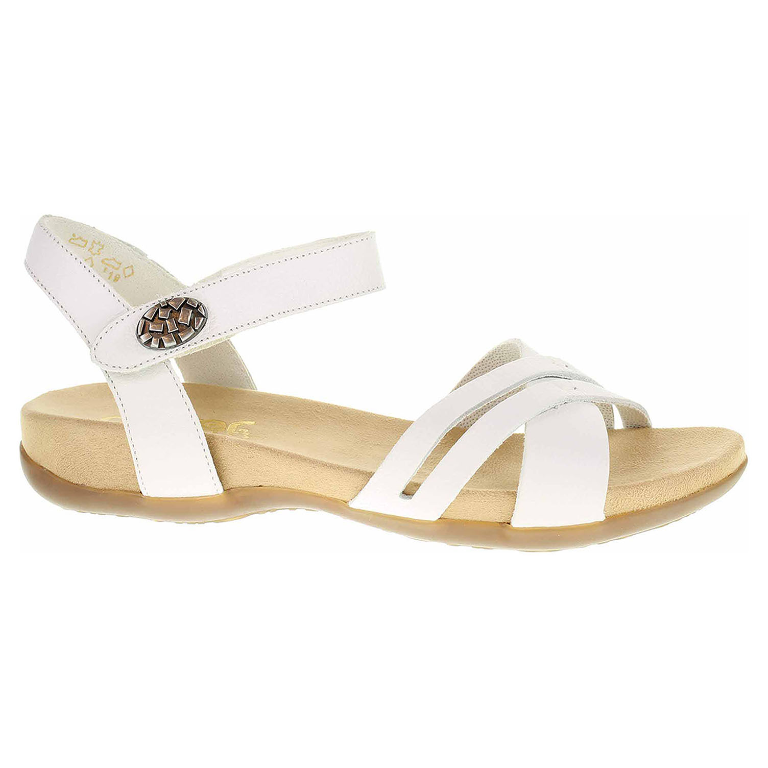 Dámské sandály Rieker 60553-80 weiss 60553-80 40