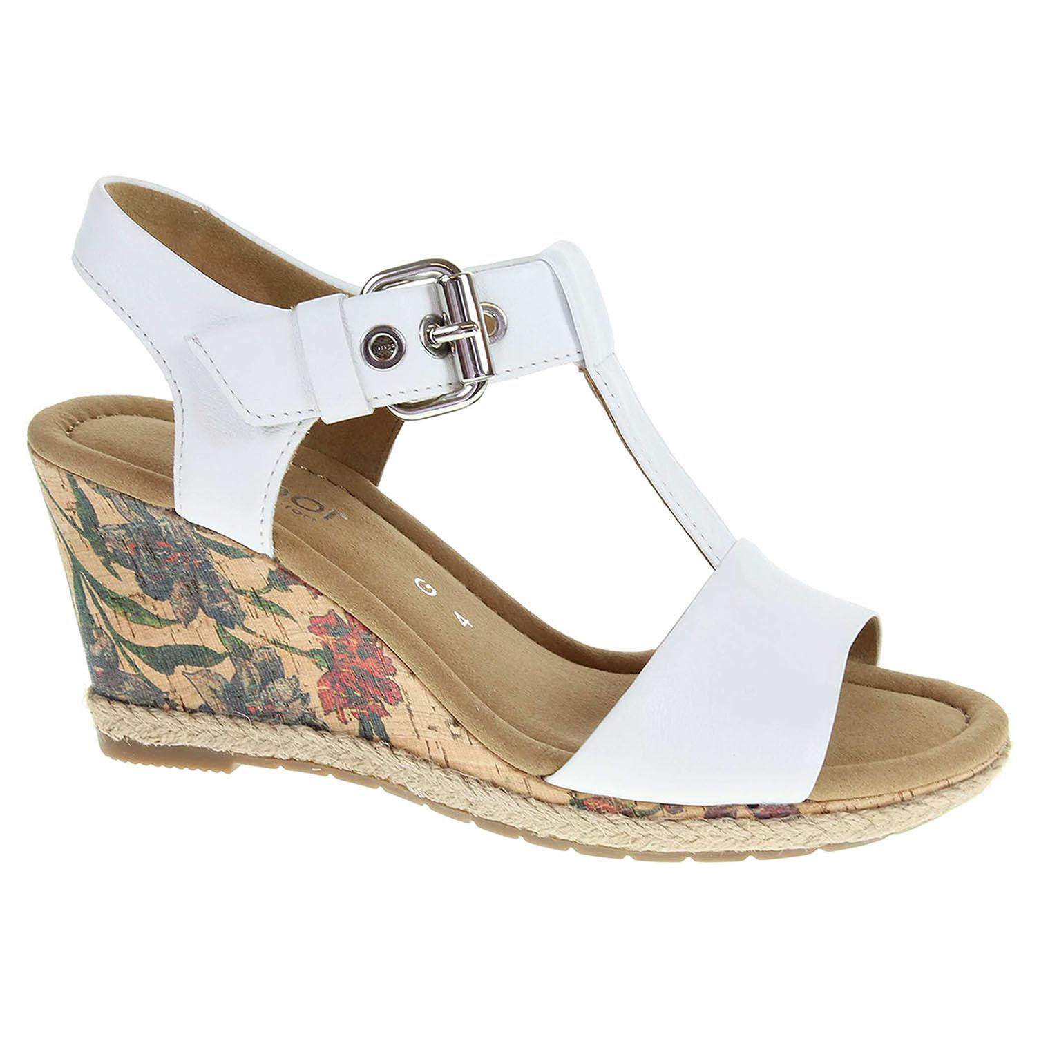 Dámské sandály Gabor 62.824.51 bílé 62.824.51 40