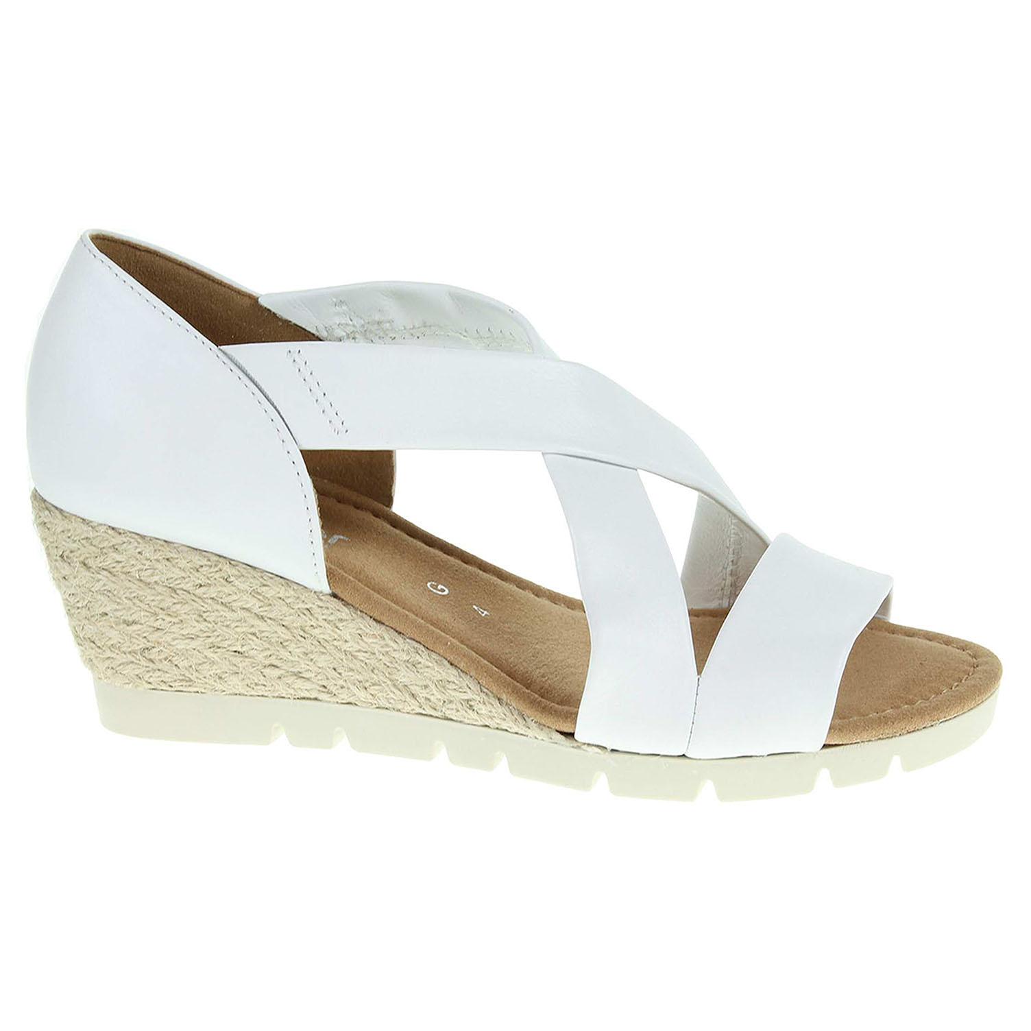 Dámské sandály Gabor 62.853.50 bílé 62.853.50 37,5