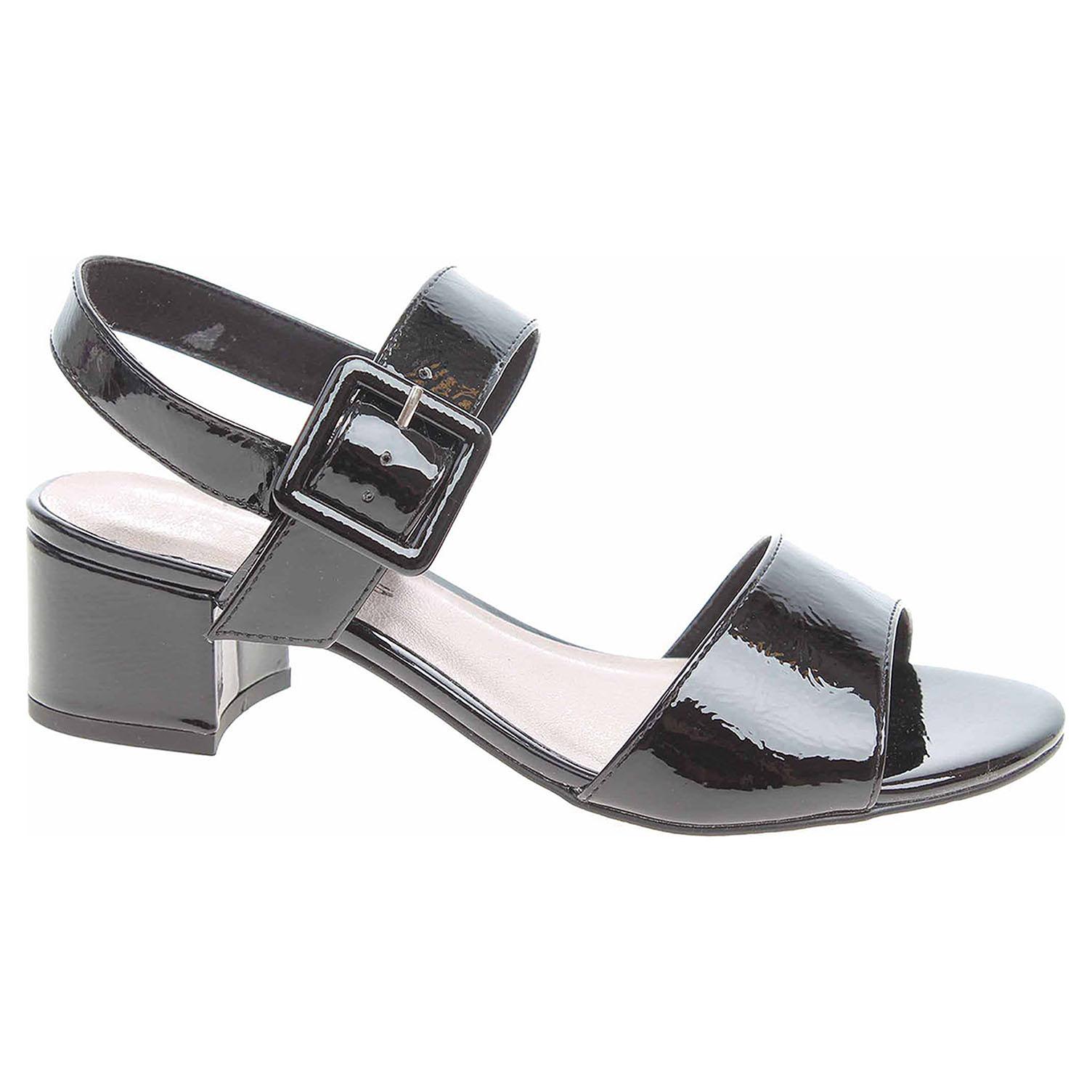 Dámská společenská obuv Tamaris 1-28211-22 black patent 1-1-28211-22 018 39