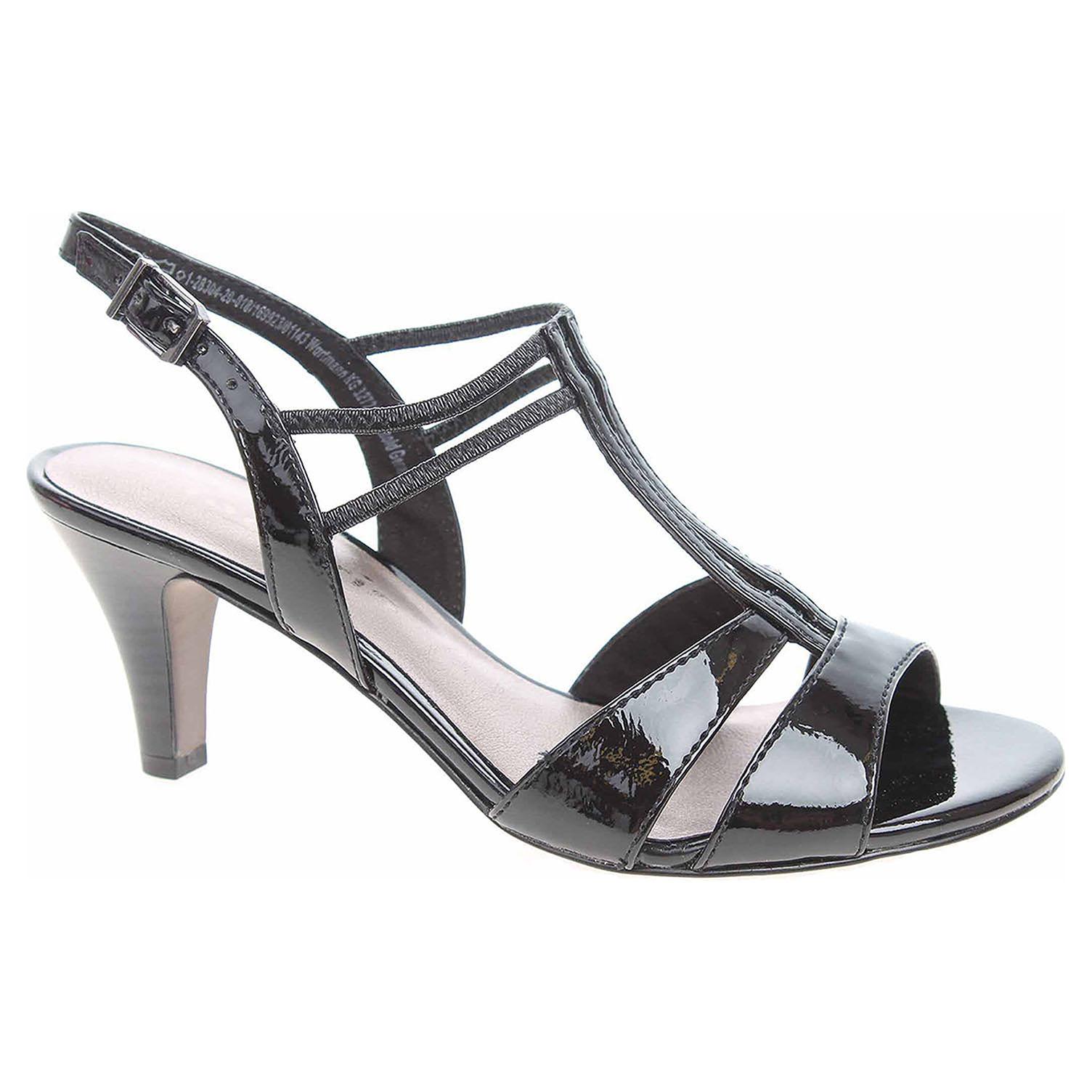 Dámská společenská obuv Tamaris 1-28304-22 black patent 1-1-28304-22 018 39