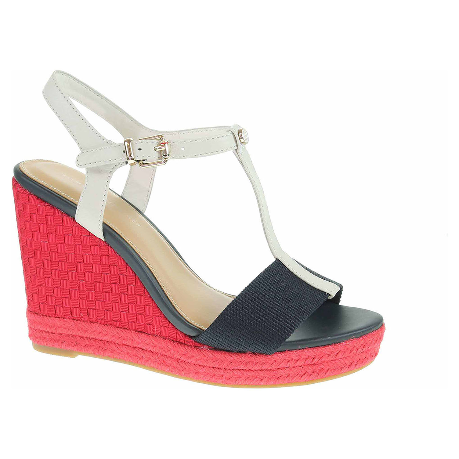 Dámské sandály Tommy Hilfiger FW0FW02249 020 rwb FW0FW02249 020 41