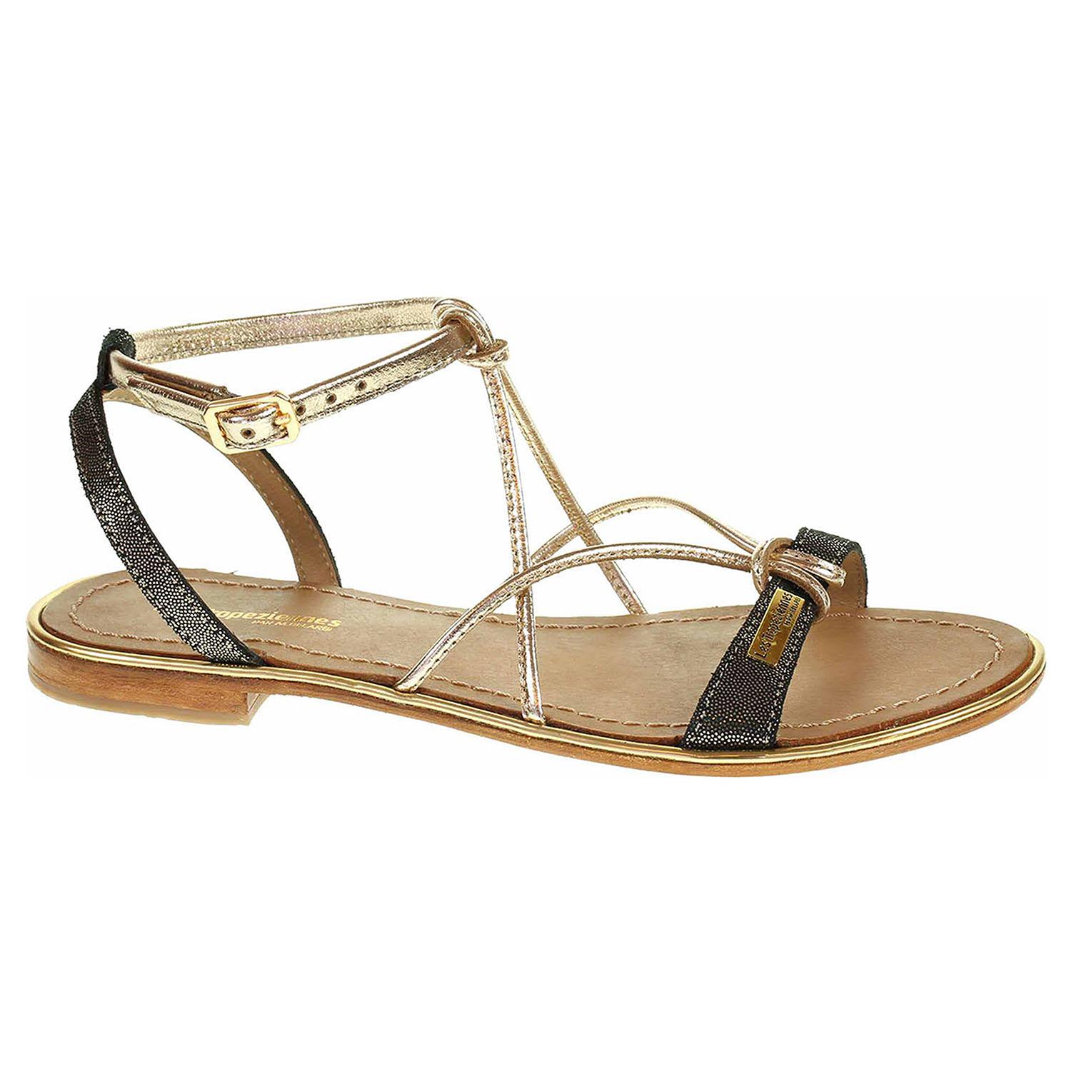 Dámské sandály Les Tropeziennes 19022 Hirondel black shiny C19022HIRONDEL 37