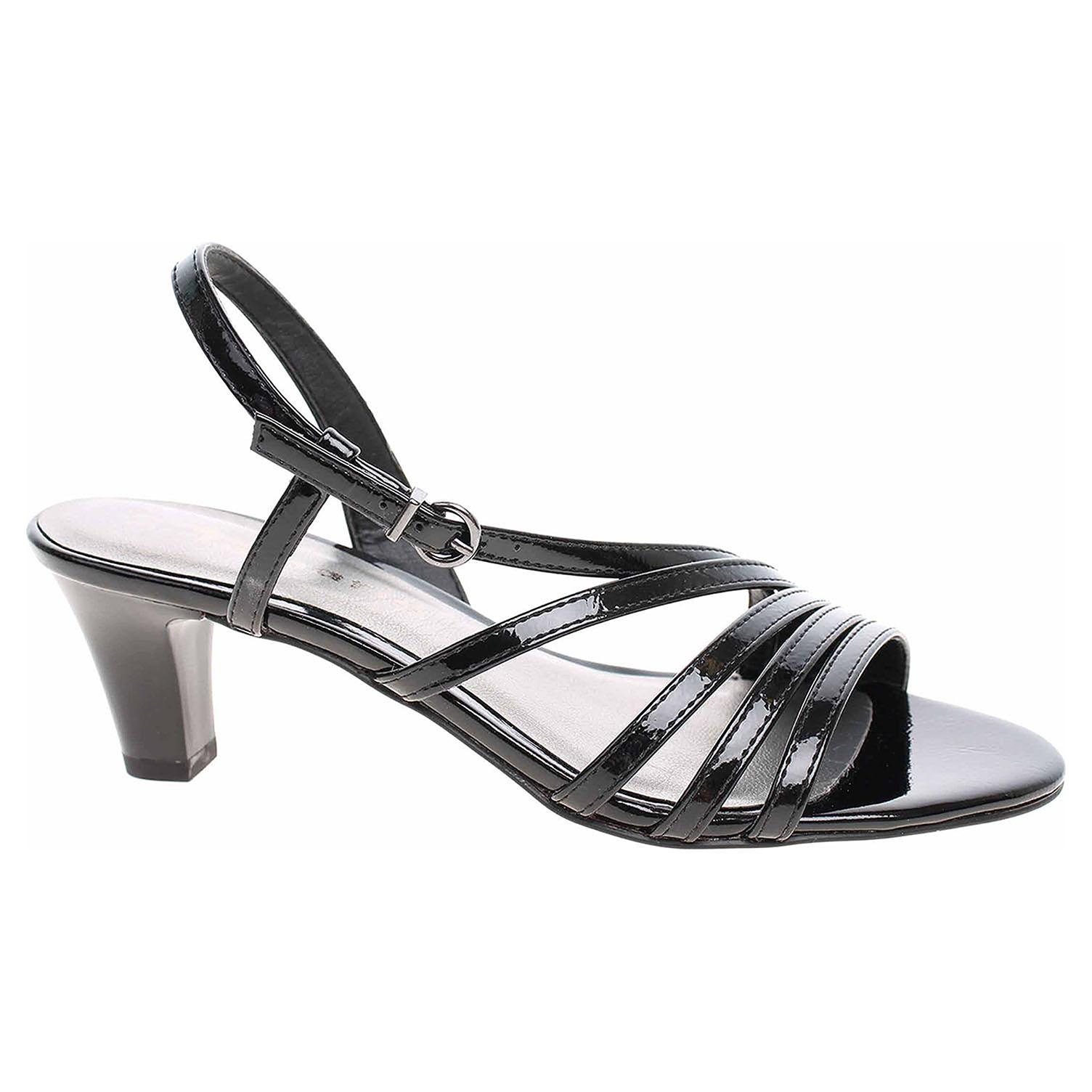 Dámská společenská obuv Tamaris 1-28023-32 black patent 1-1-28023-32 018 39