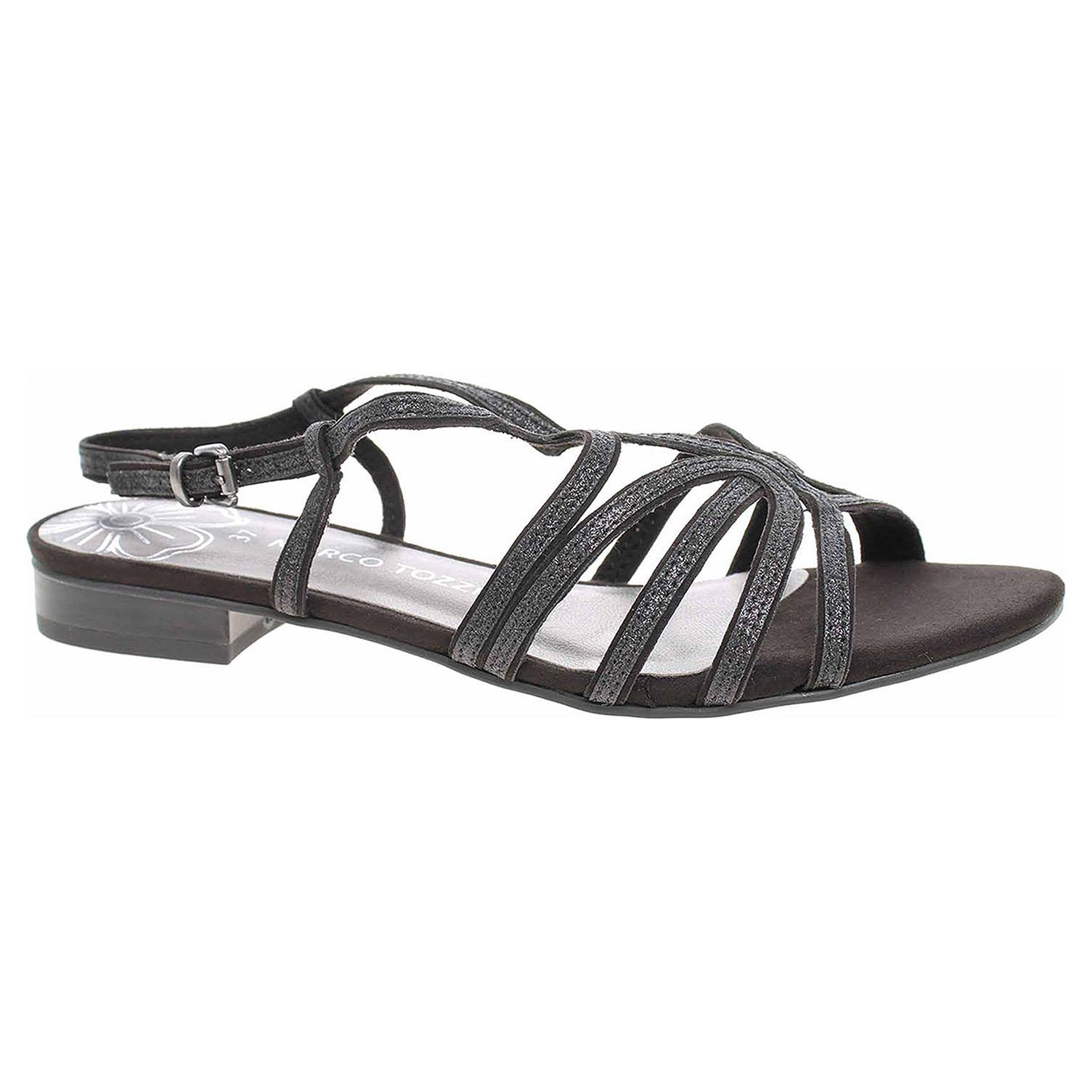 Dámská společenská obuv Marco Tozzi 2-28103-22 black comb 2-2-28103-22 098 39