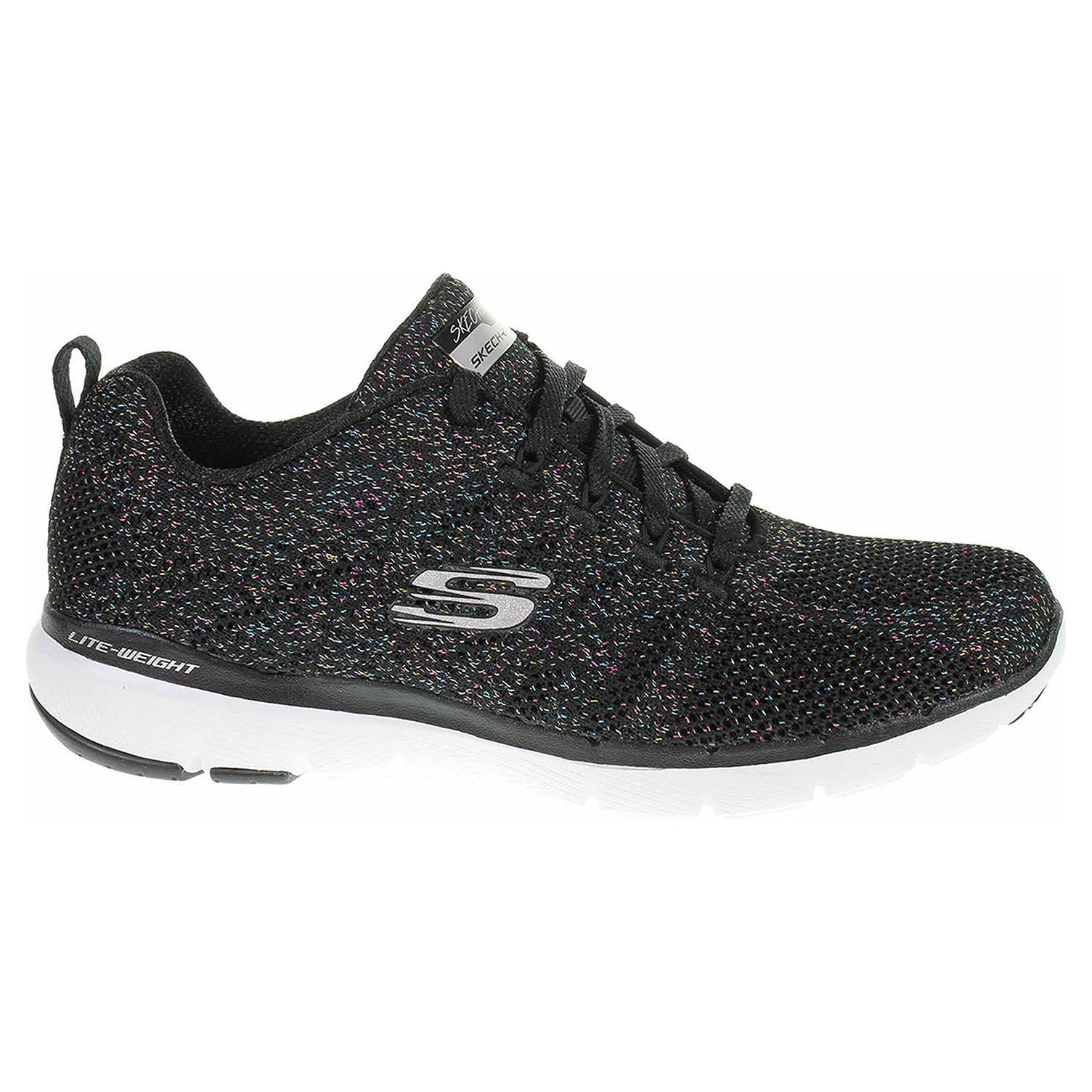 Skechers Flex Appeal 3.0 - Metal Works black-multi 13078 BKMT 39