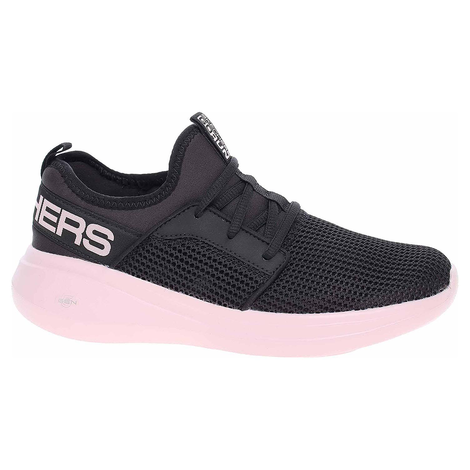 Skechers Go Run Fast - Quick Step black-pink 128010 BKPK 38,5