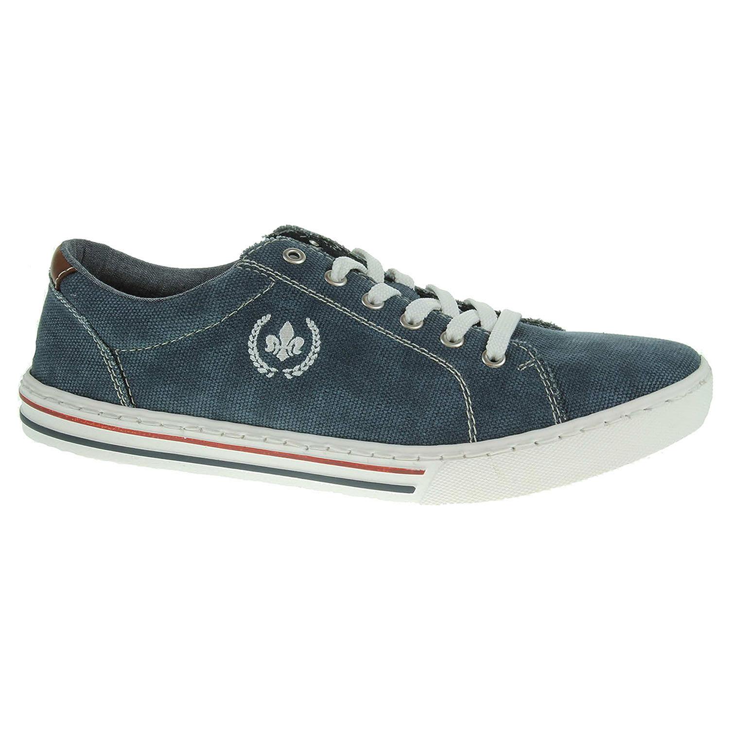 Pánská obuv Rieker 19501-14 modrá 40