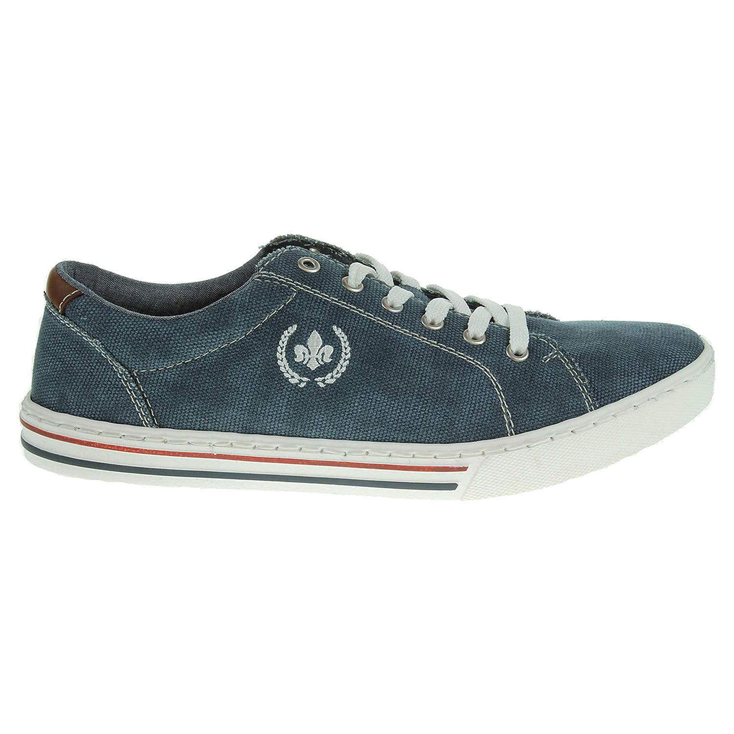 Rieker pánská obuv 19501-14 modrá 46