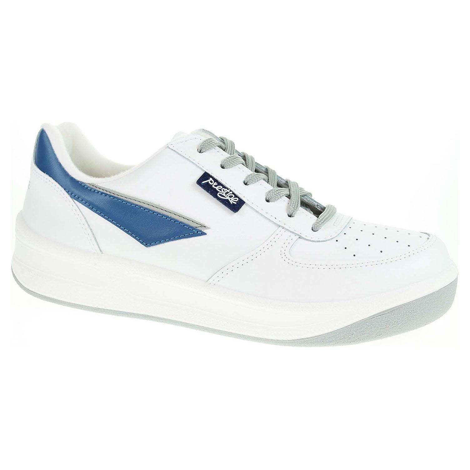 Pánská obuv Prestige 86808-10 bílá 86808-10 bílá 41