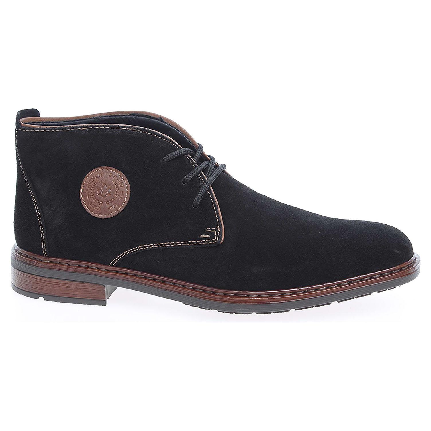 Pánská kotníková obuv Rieker F1211-00 černé 45