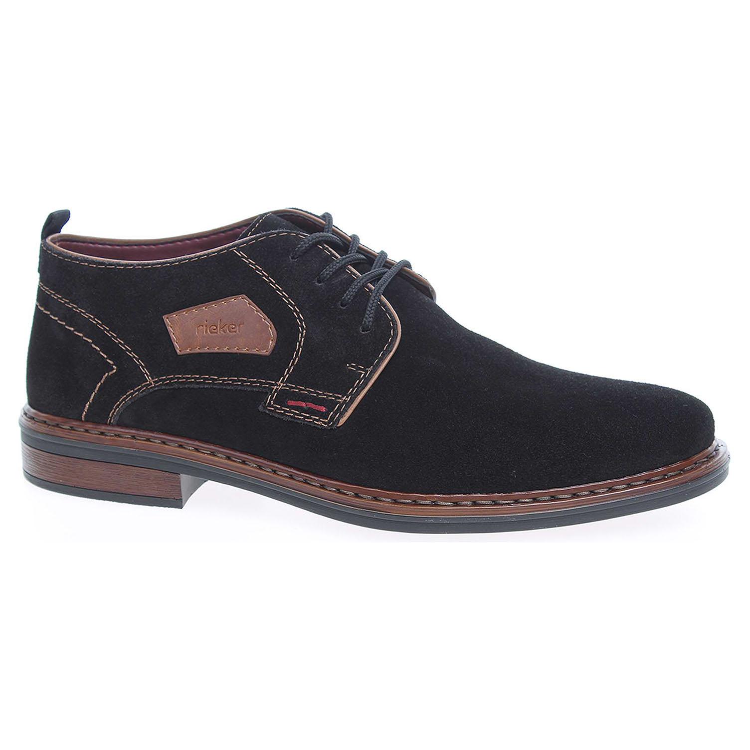 Pánská kotníková obuv Rieker 17630-00 černé 41