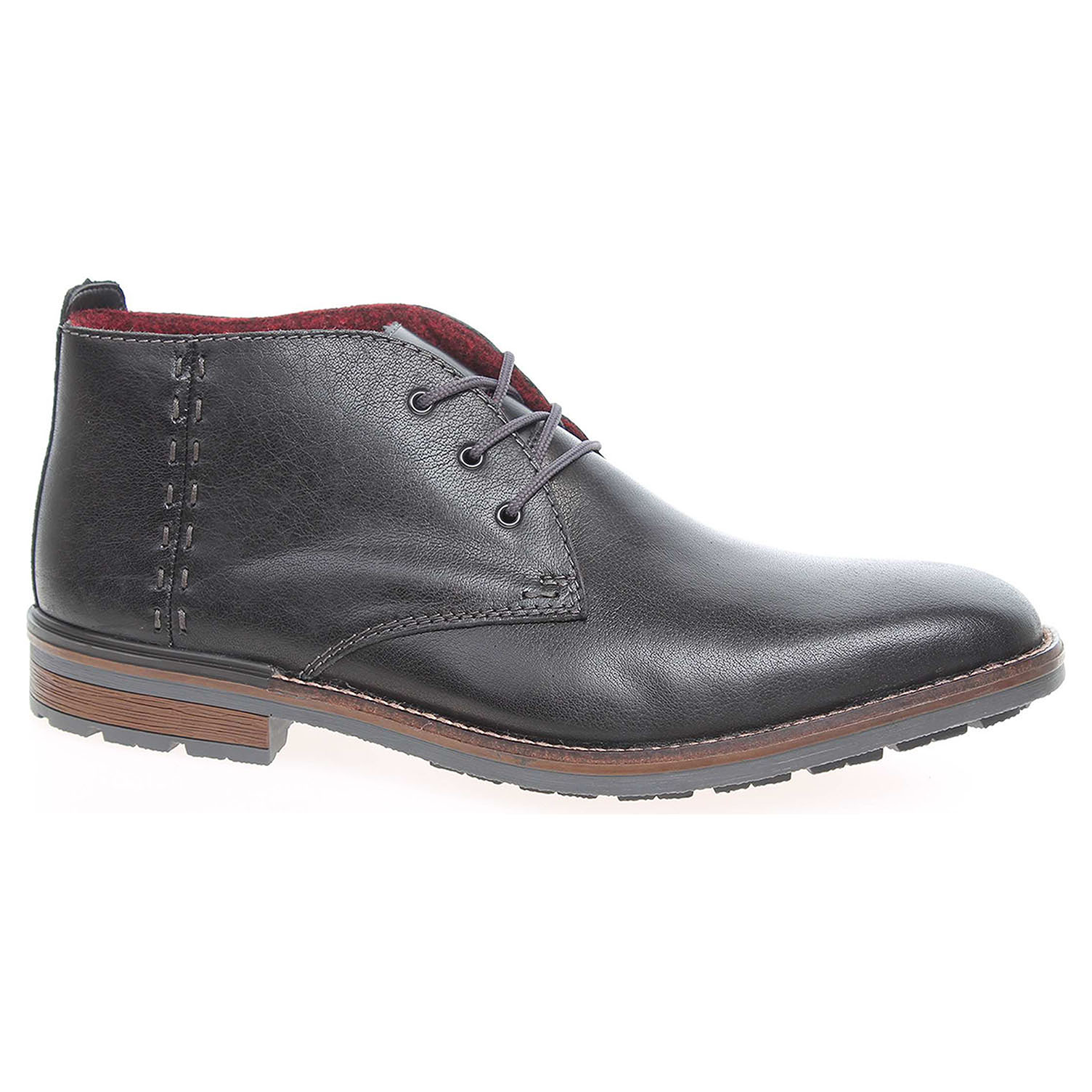 Pánská kotníková obuv Rieker F1311-00 černé 43