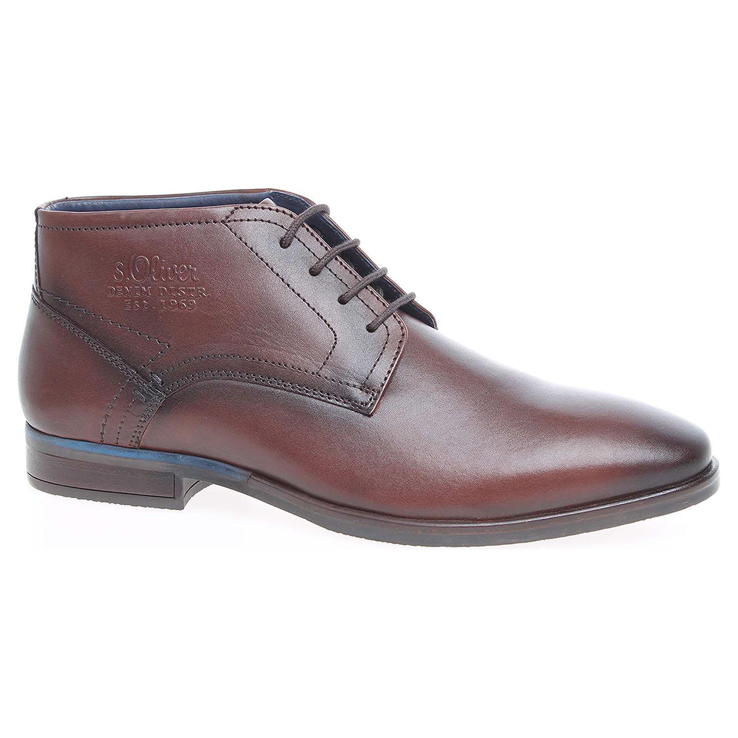 Pánská kotníková obuv s.Oliver 5-15226-37 hnědé 43