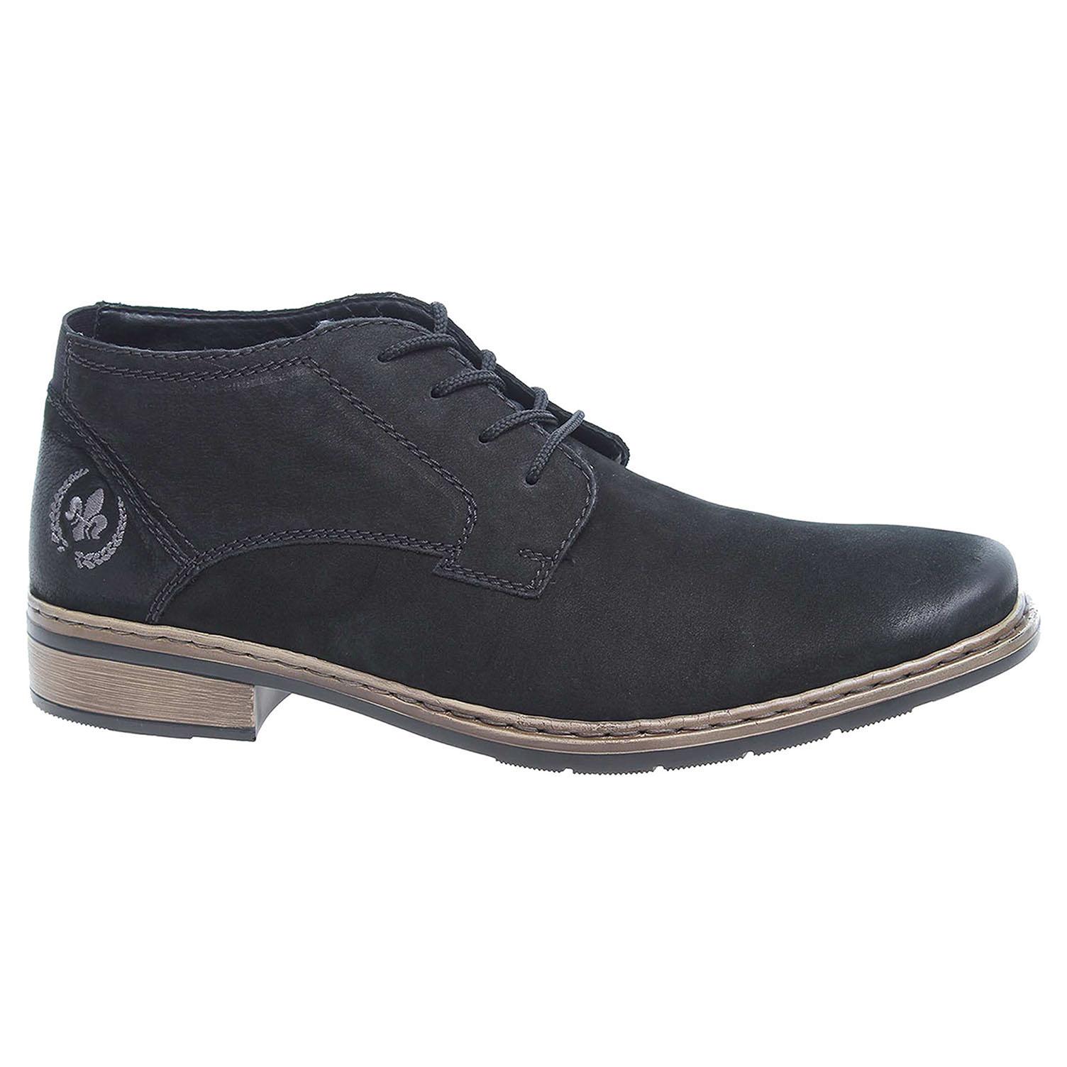 Pánská kotníková obuv Rieker 10834-00 černé 42