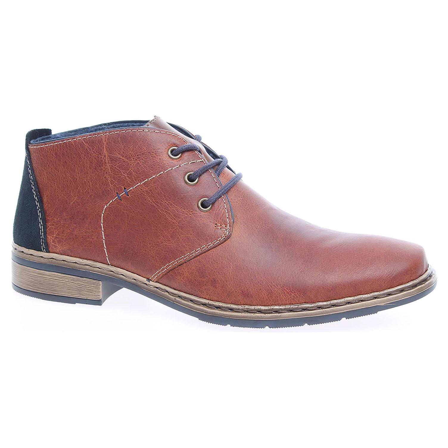 Pánská kotníková obuv Rieker 10842-25 hnědé 41