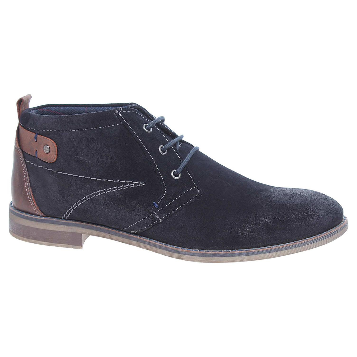 Pánská kotníková obuv s.Oliver 5-15106-27 modré 42