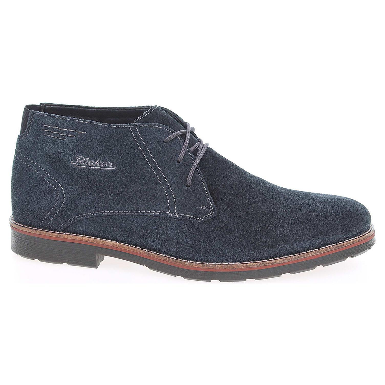 Pánská kotníková obuv Rieker 35314-14 modré 45