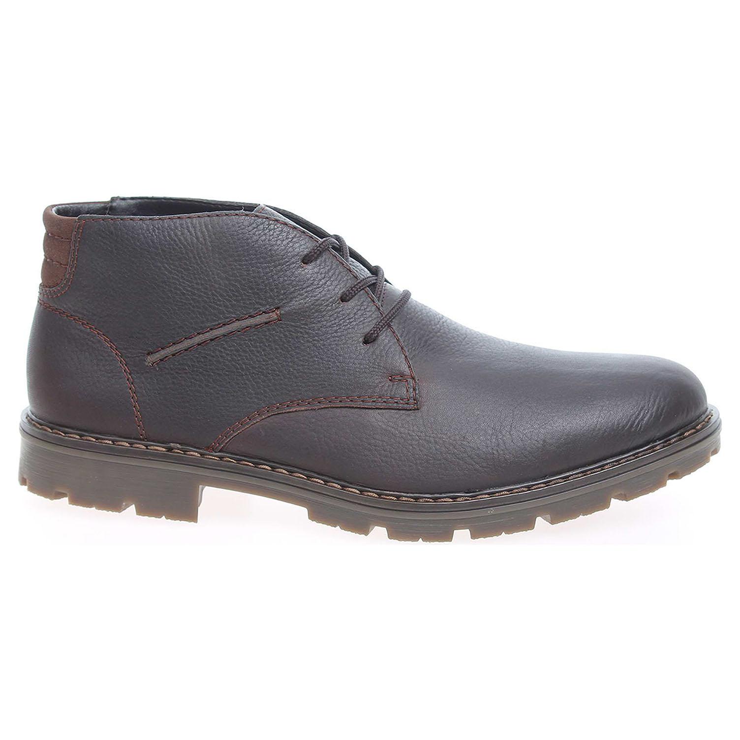 Pánská kotníková obuv Rieker 32104-25 hnědé 45