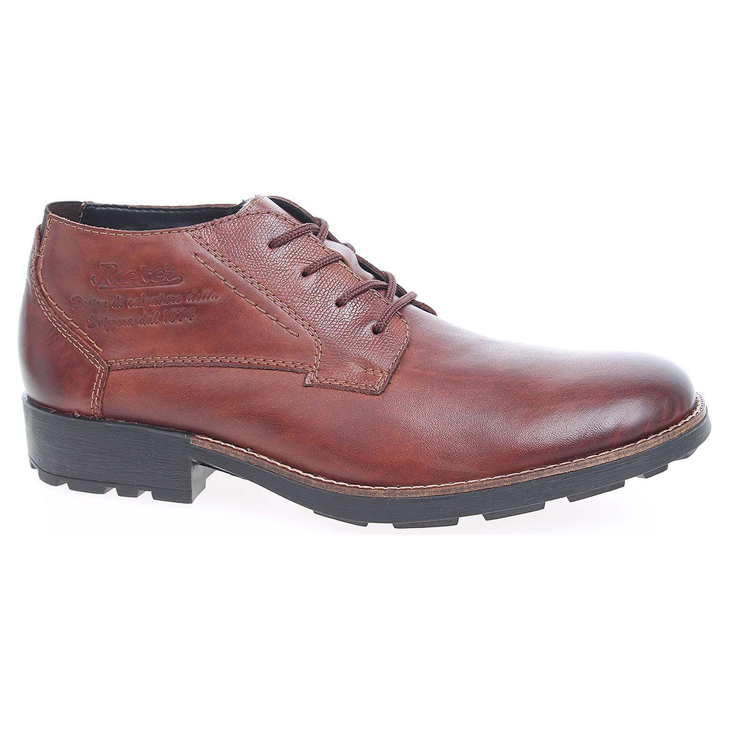 Pánská kotníková obuv Rieker 16043-24 hnědé 46