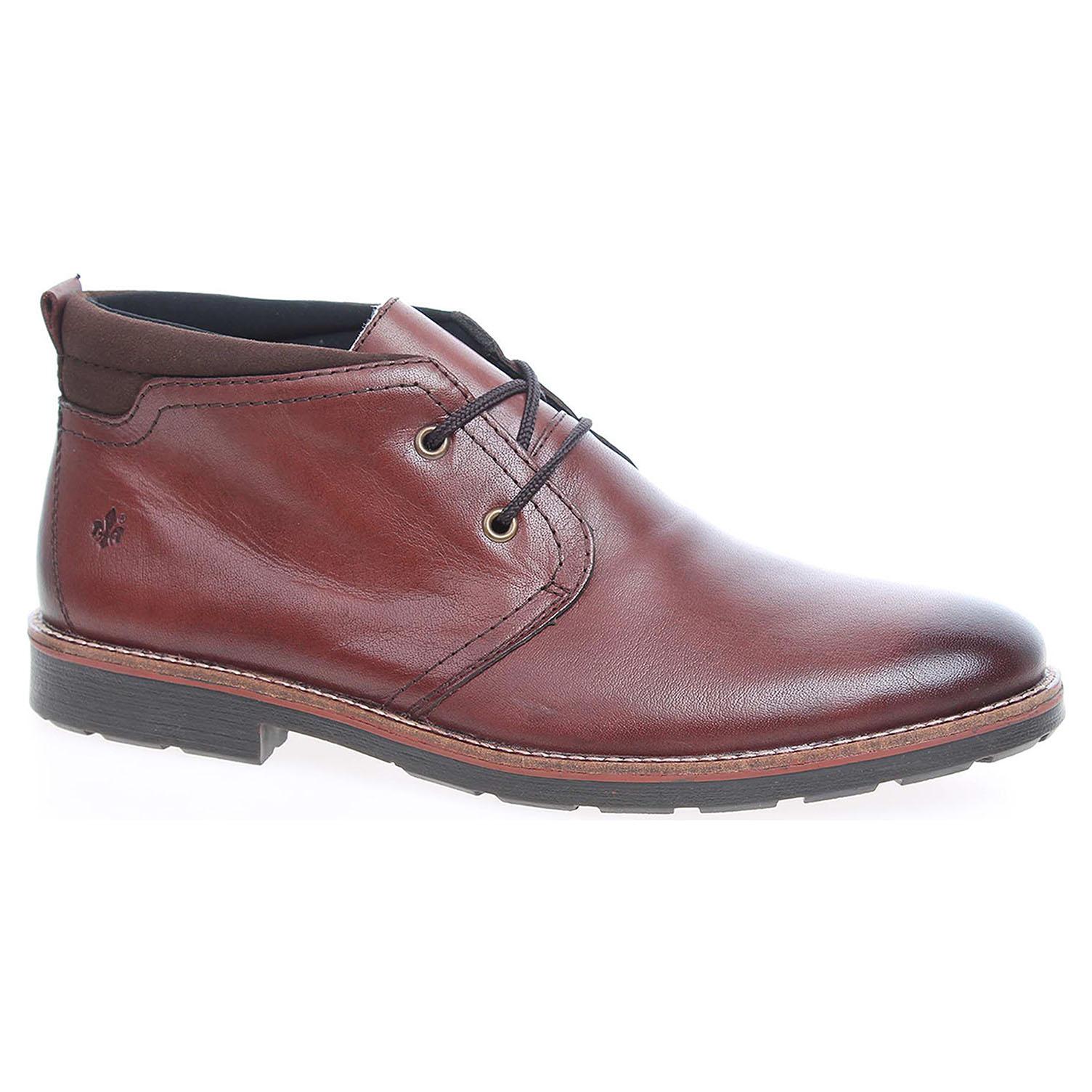 Pánská kotníková obuv Rieker 35324-25 hnědé 46