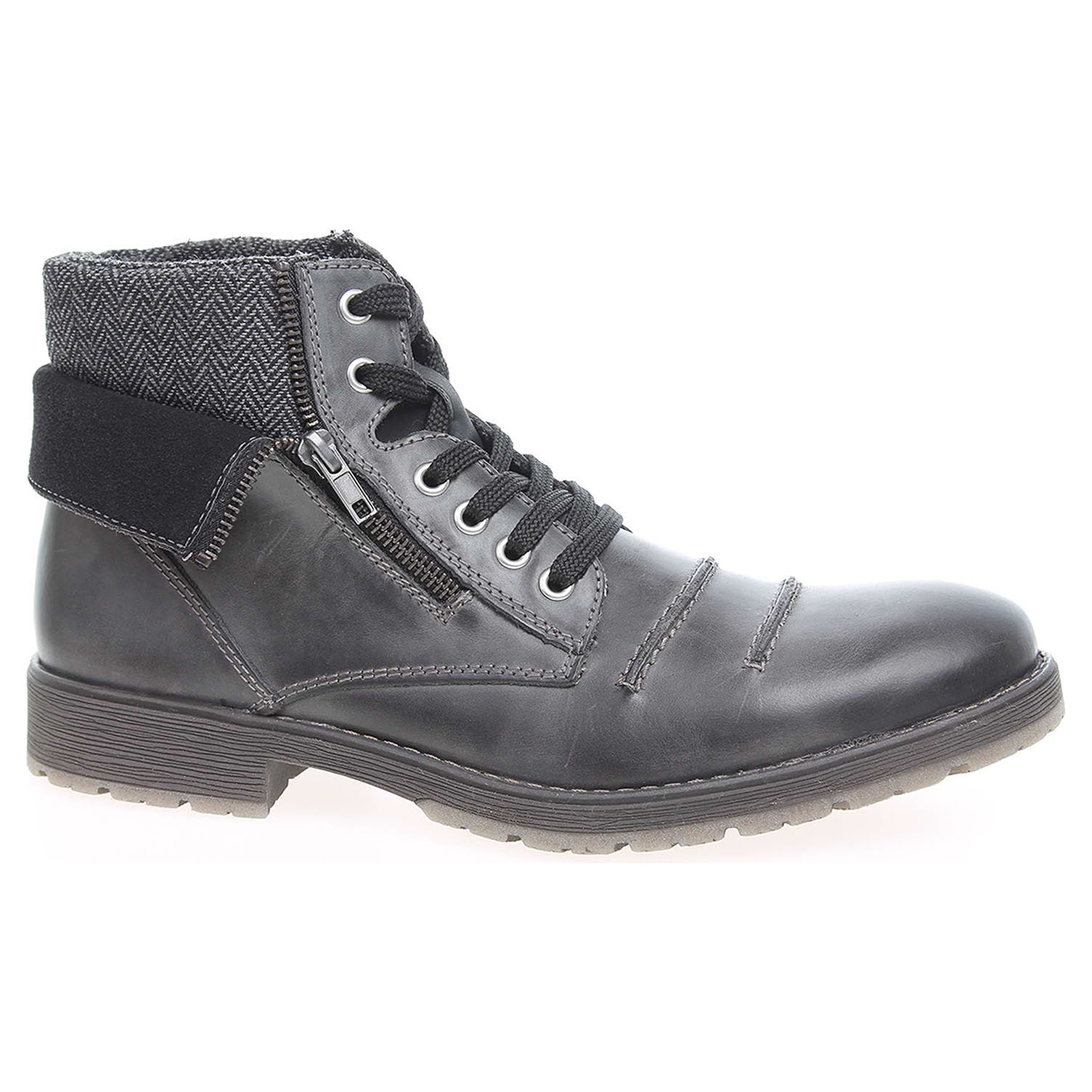Pánská kotníková obuv Rieker 33312-46 šedé 45