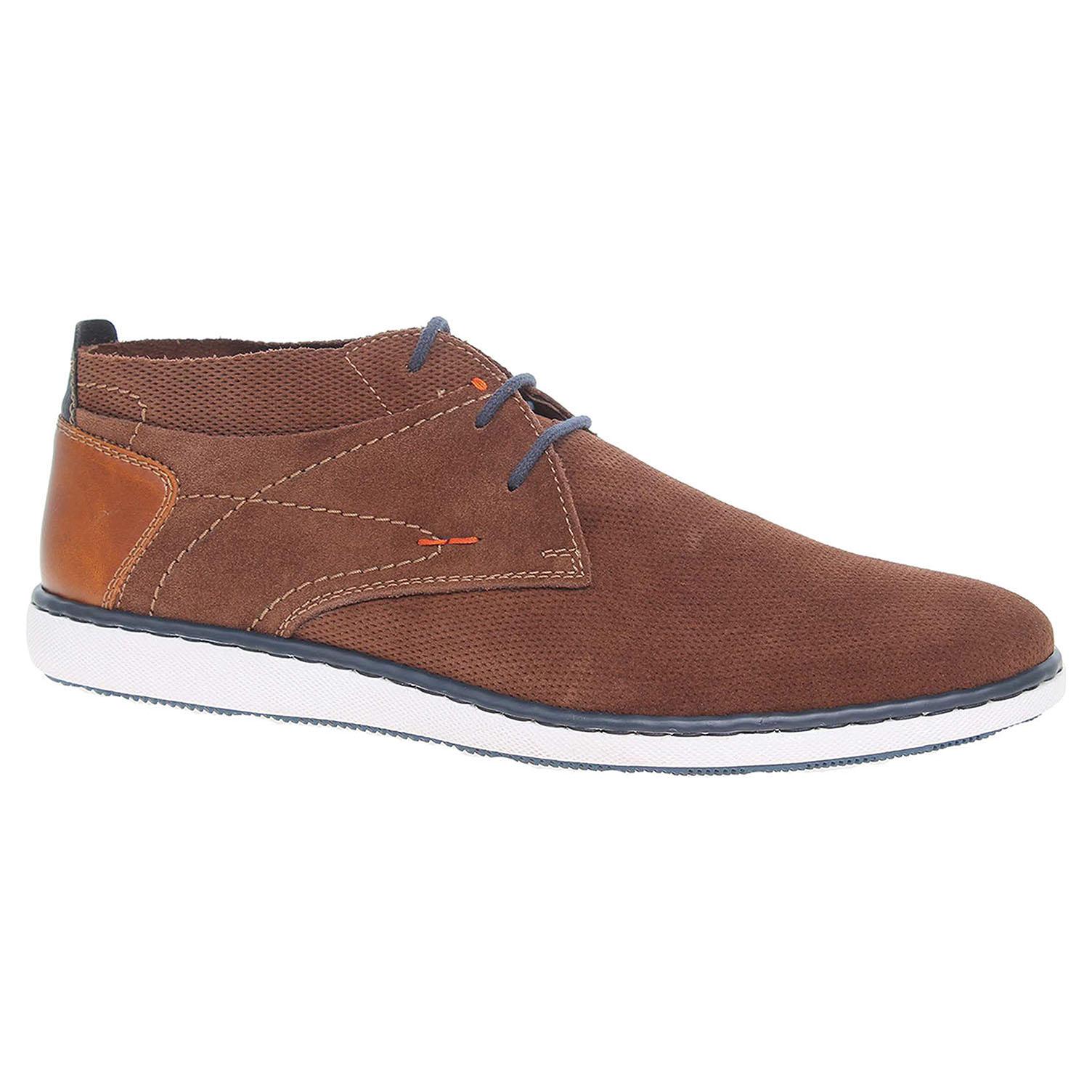 Pánská kotníková obuv Rieker 17823-20 hnědé 41