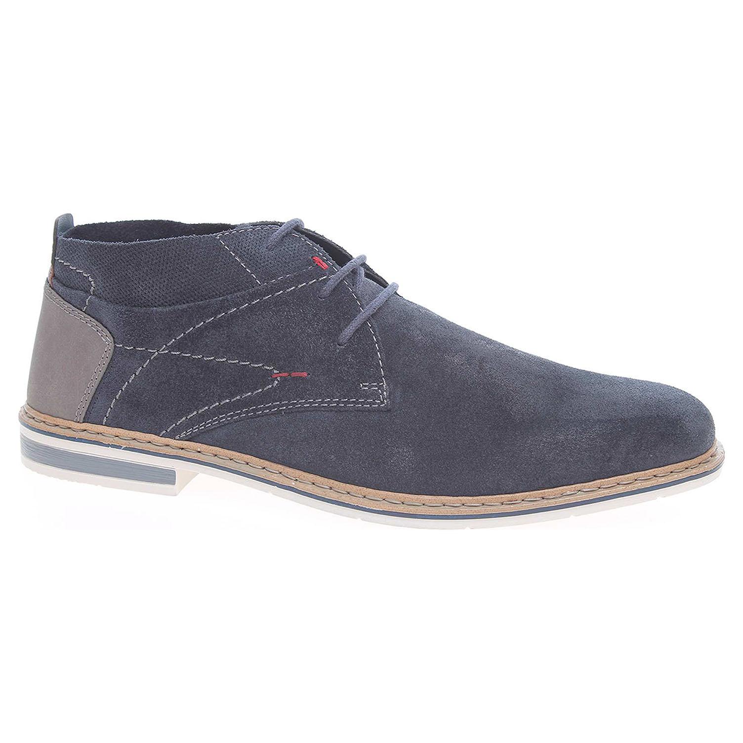 Pánská kotníková obuv Rieker B1723-15 modré 44