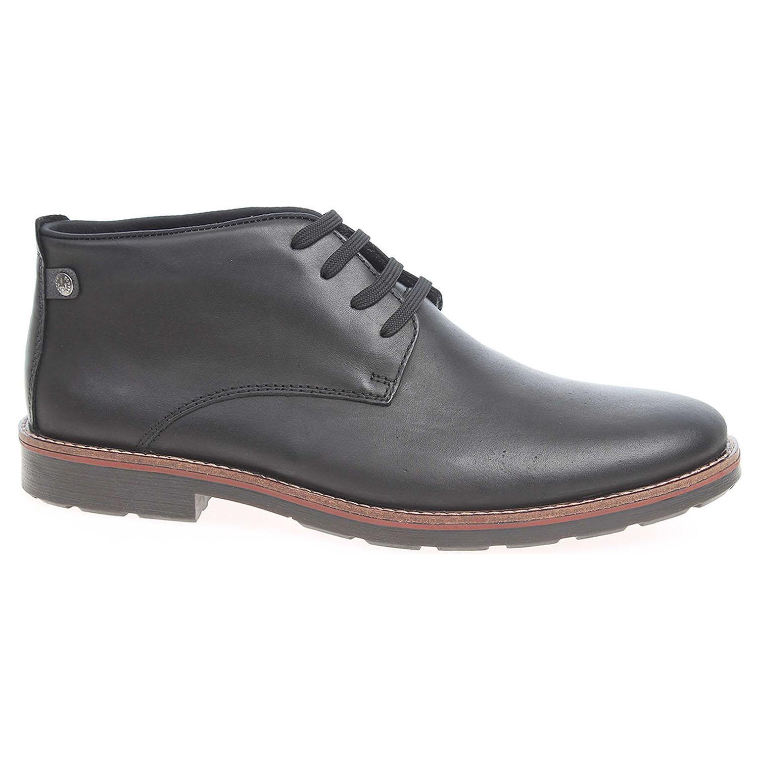 Pánská kotníková obuv Rieker 15340-00 schwarz 15340-00 43